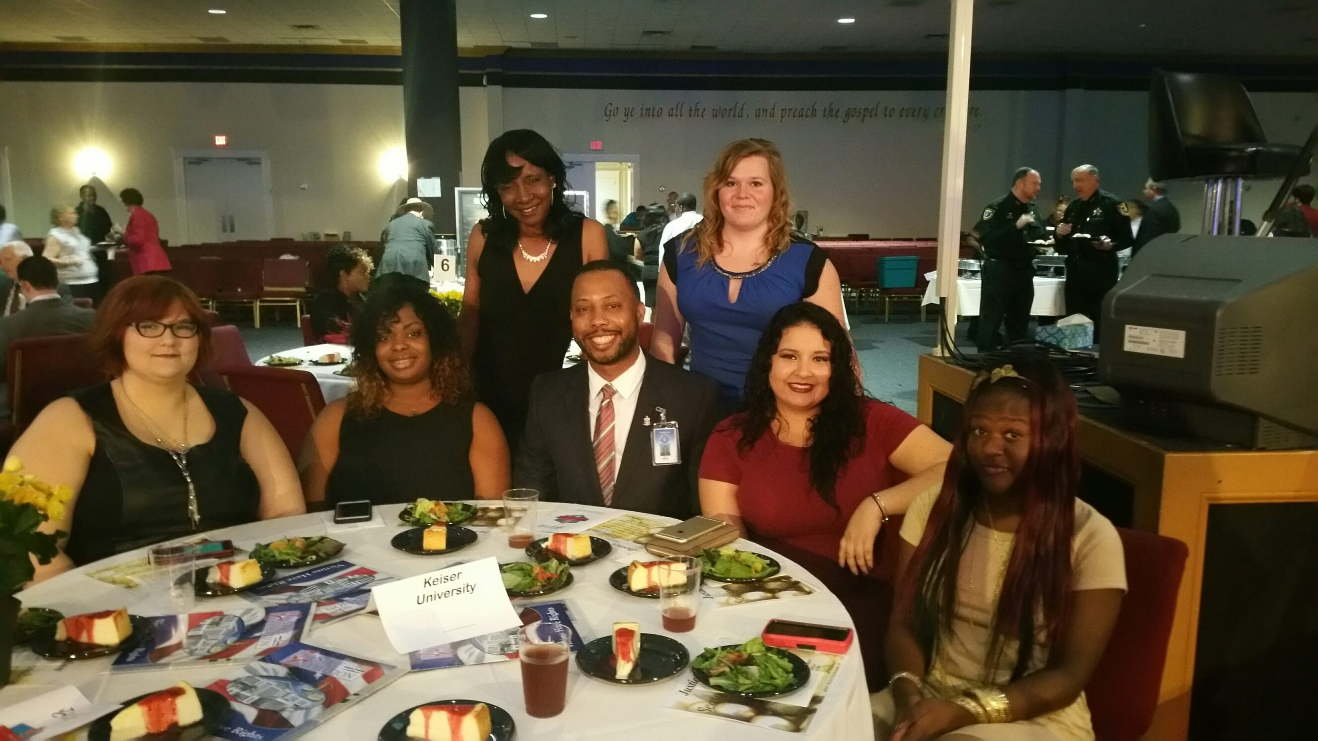 Jacksonville Sent Attendees to the 7th Annual Champions for Justice Awards Dinenr