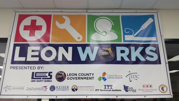 Tallahassee Participates in Leon Works Career Expo