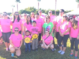 The Sarasota Campus Participates in Making Strides Against Breast Cancer 5K