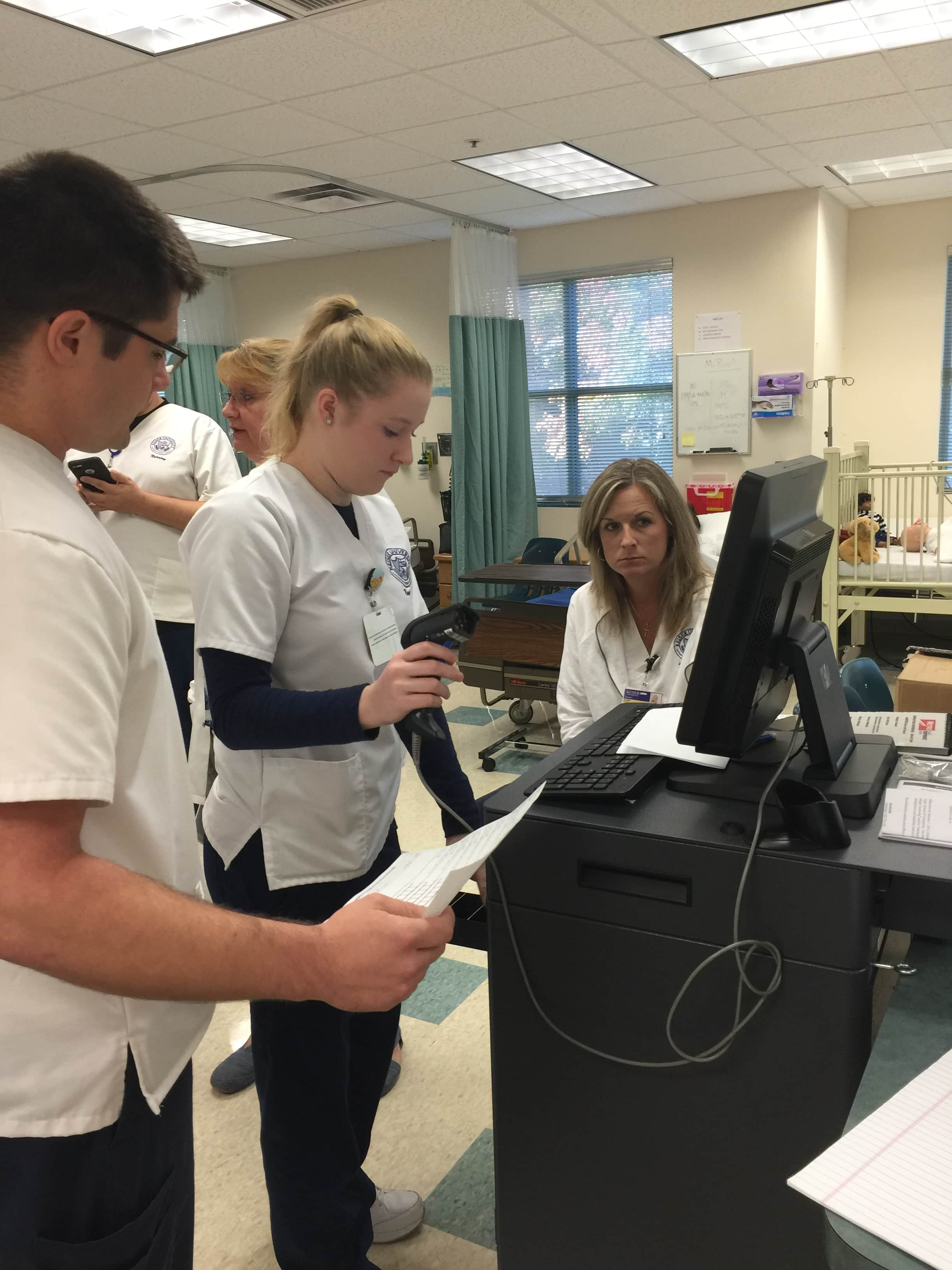 Nursing Students in Sarasota Learn MedDispense System