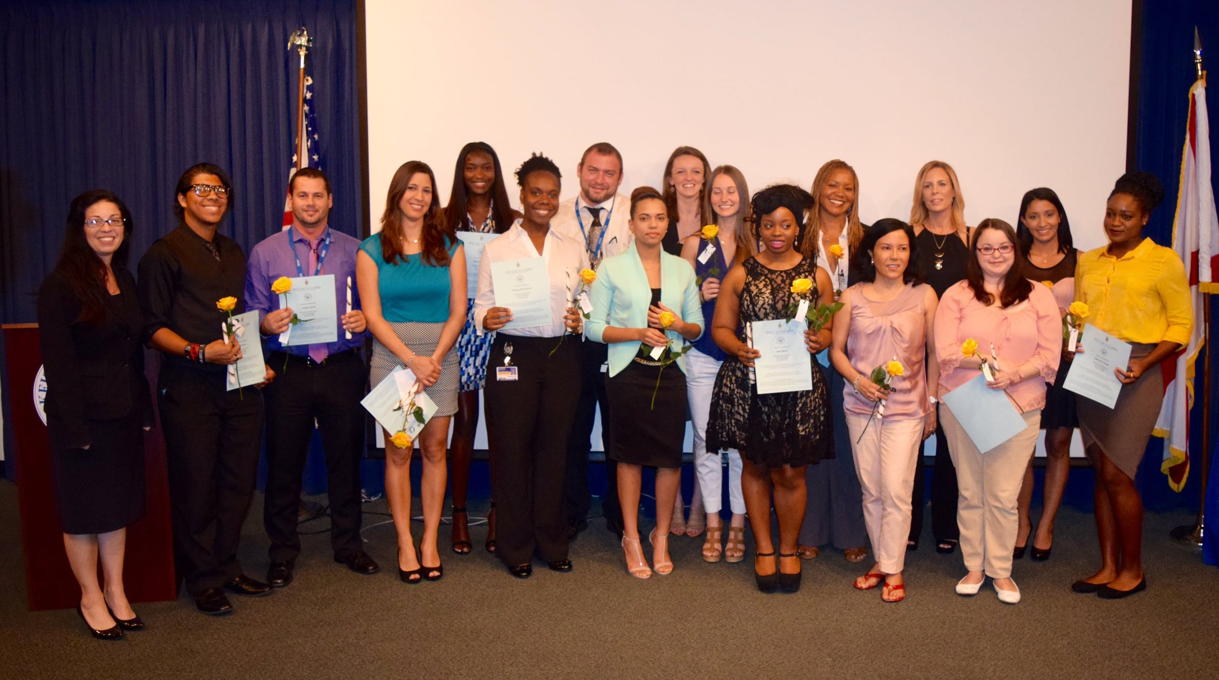 Ft. Lauderdale Holds a PTK Pinning Ceremony