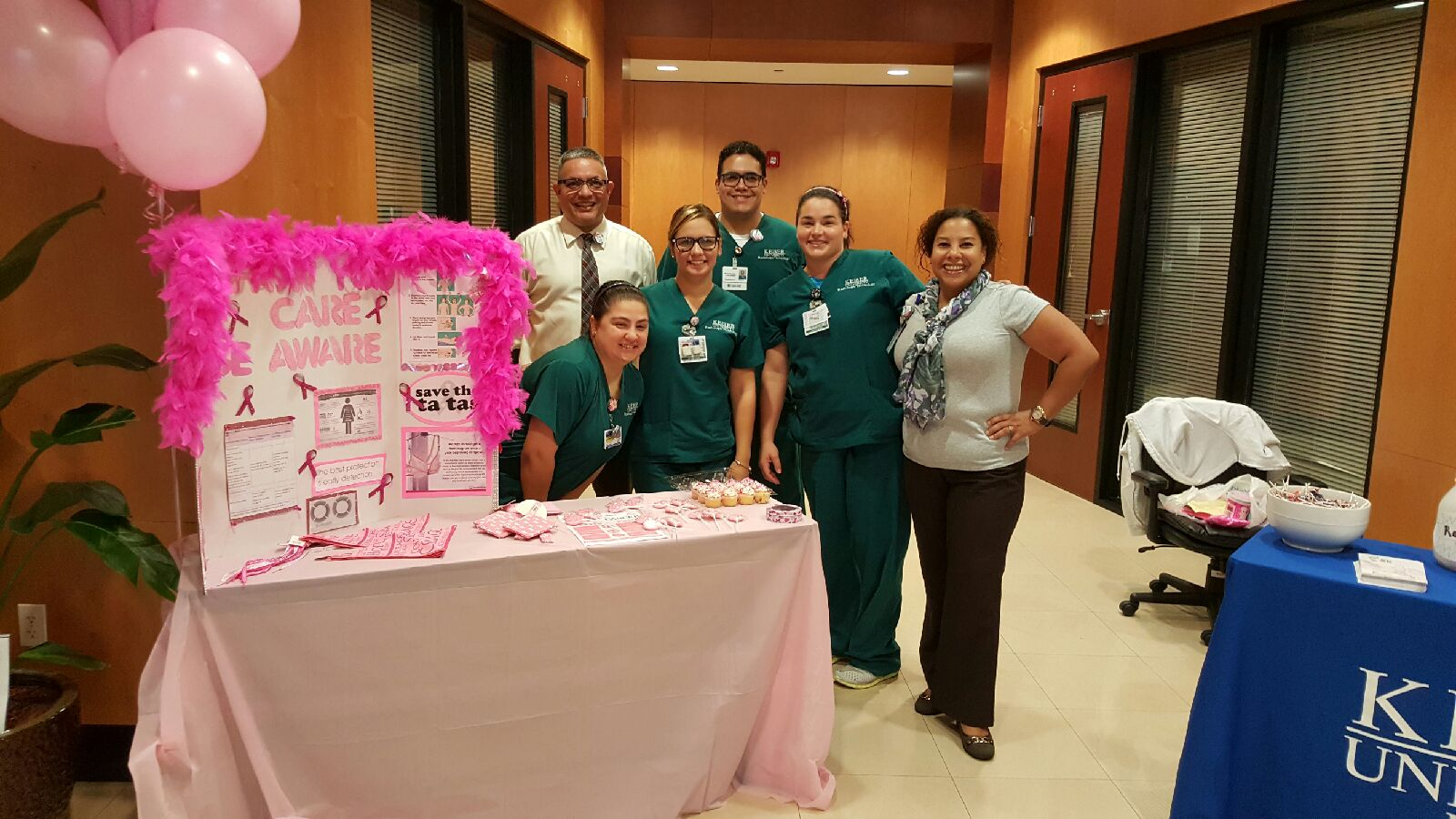 Miami's Chapter of Lambda Nu Imaging Honor Society holds a Club Awareness Day