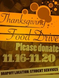 Thanksgiving Food Drive Nov. 2015 (3)