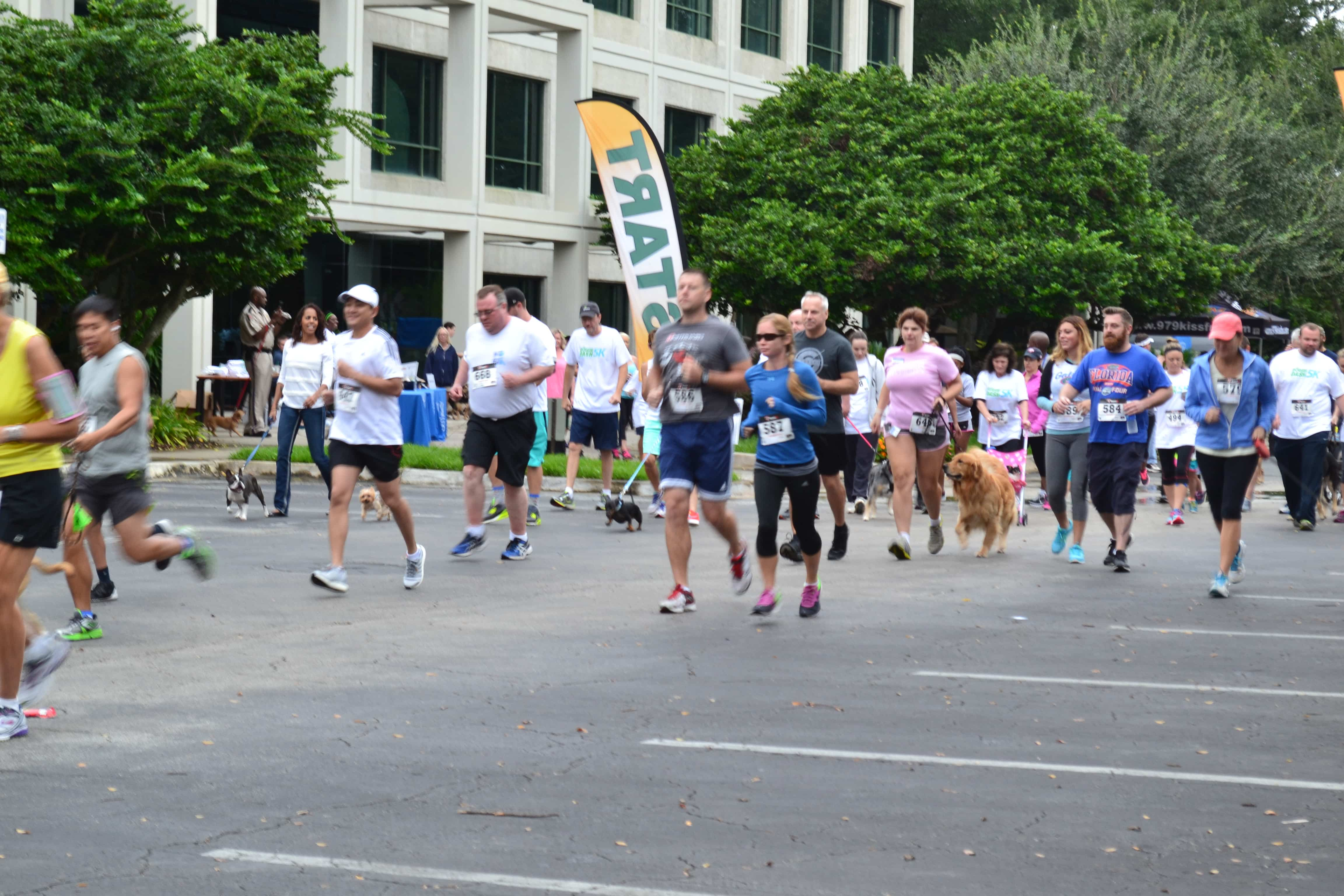 Jacksonville Holds Fourth Annual Doggie Dash 5k