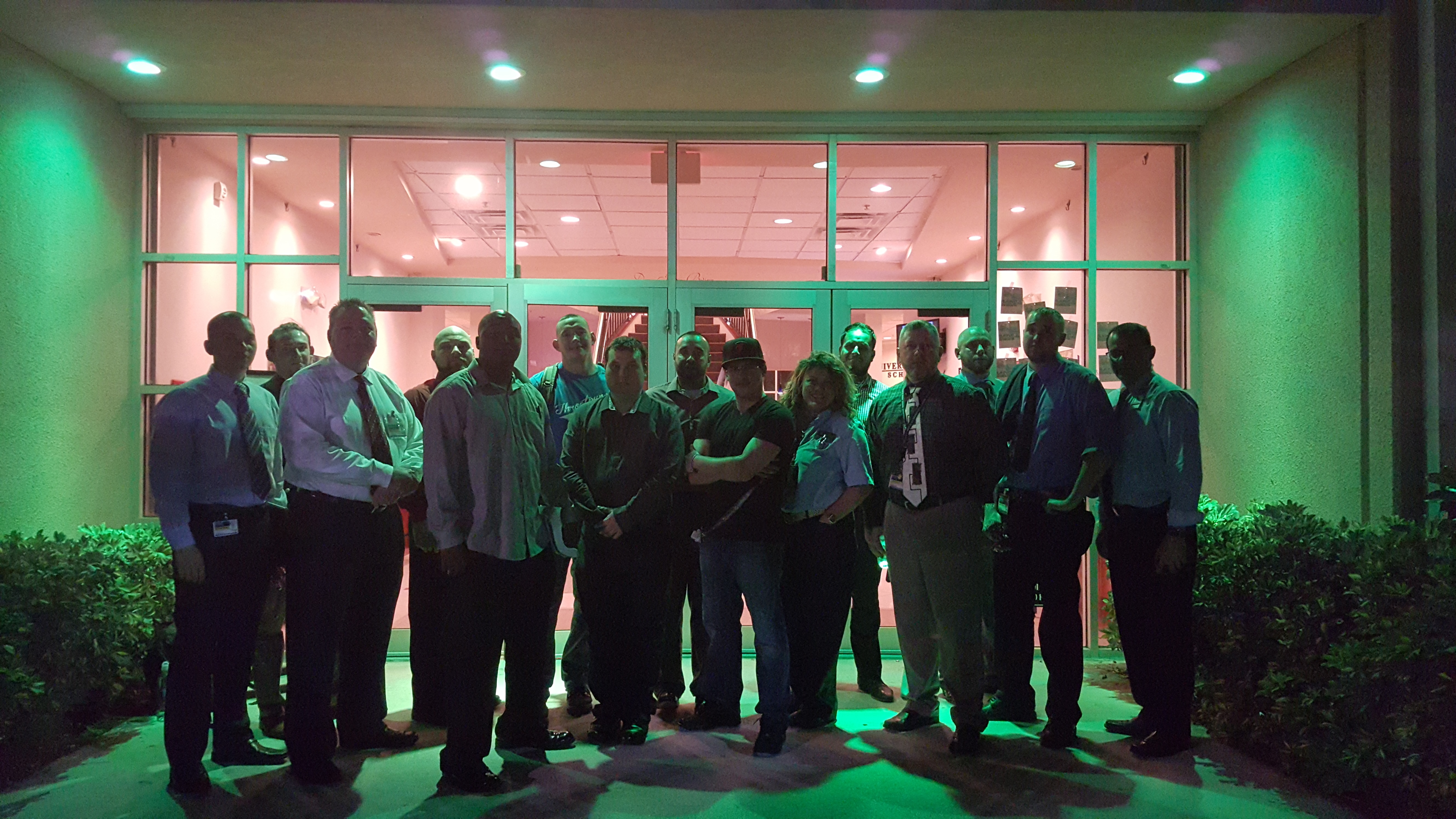"West Palm Beach Participated in ""Greenlight A Vet"""