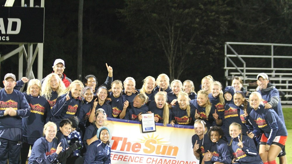 Seahawks Women's Soccer Wins Sun Conference Tournament Championship