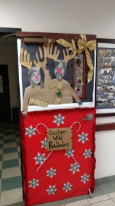 Door decorating contest Dec. 2015 4