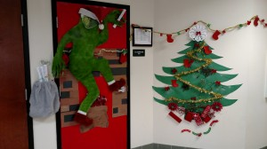 Door decorating contest Dec. 2015 5