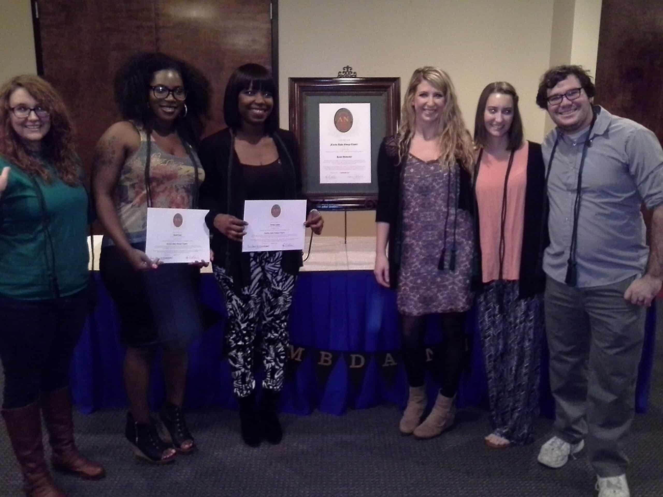 Tallahassee Holds Their Lamda Nu Induction Ceremony