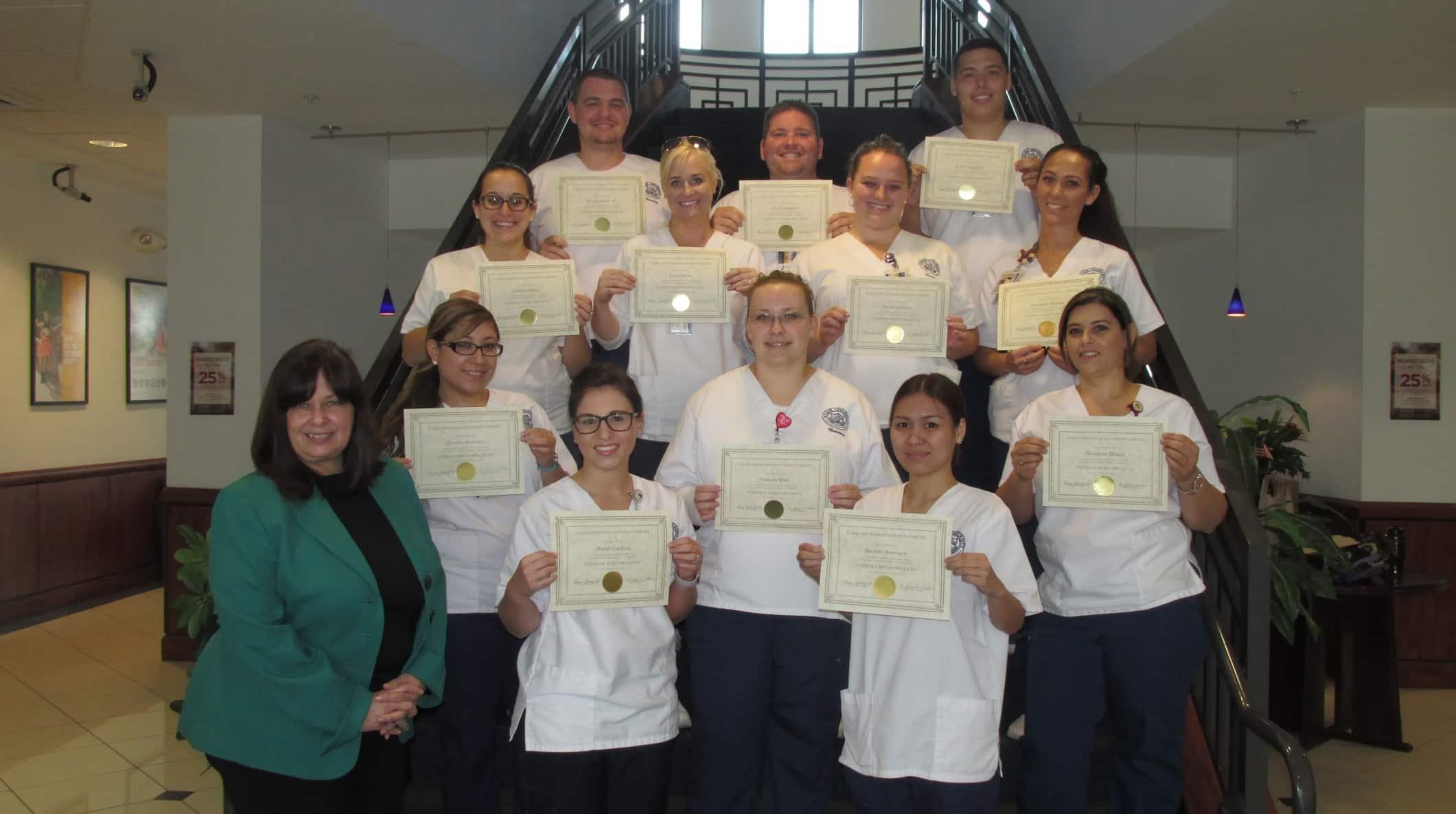 Nursing Students at the Lakeland Campus Participate in EBP Training