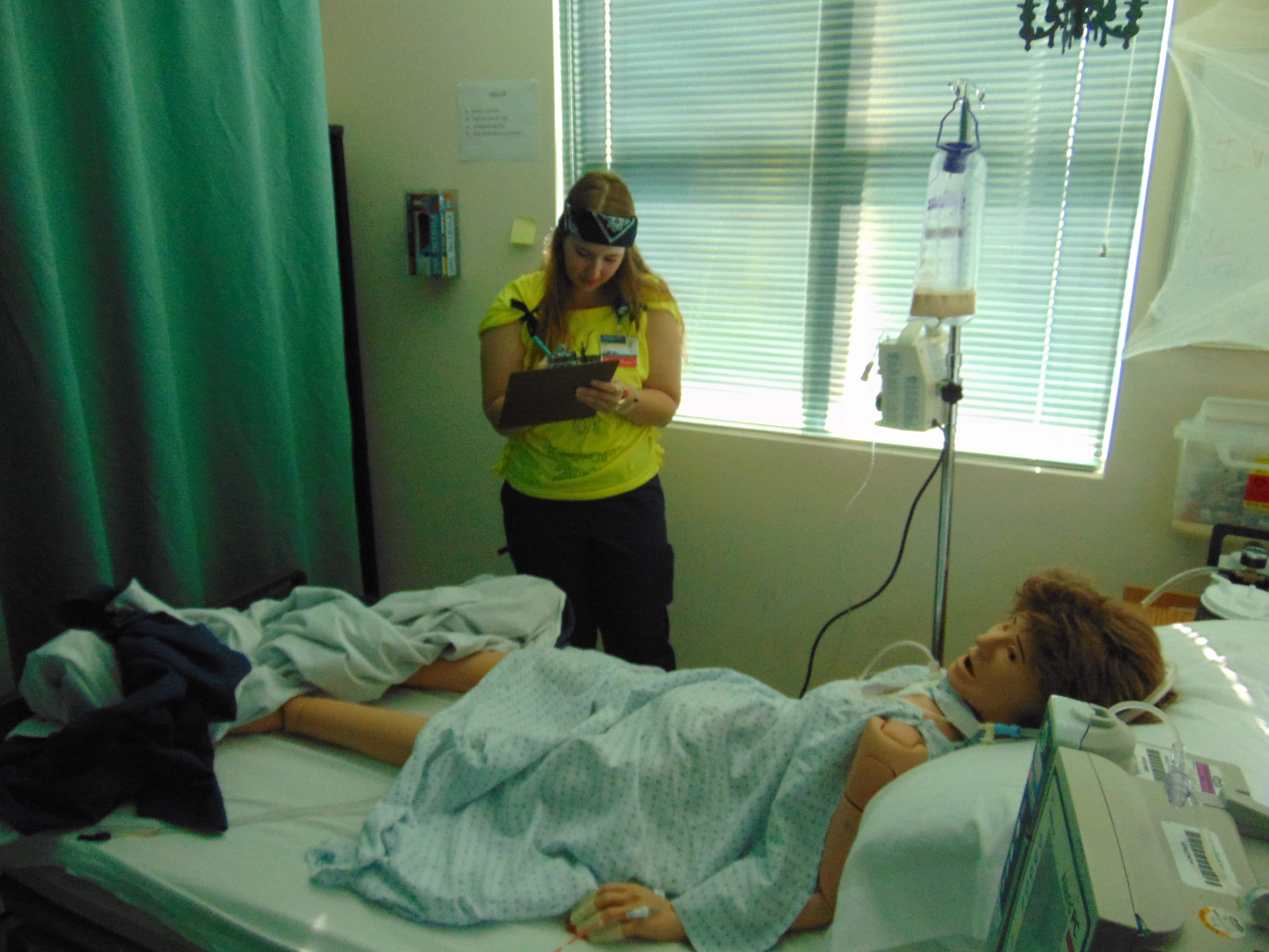 "Sarasota Nursing Students Do the ""Room of Doom"""