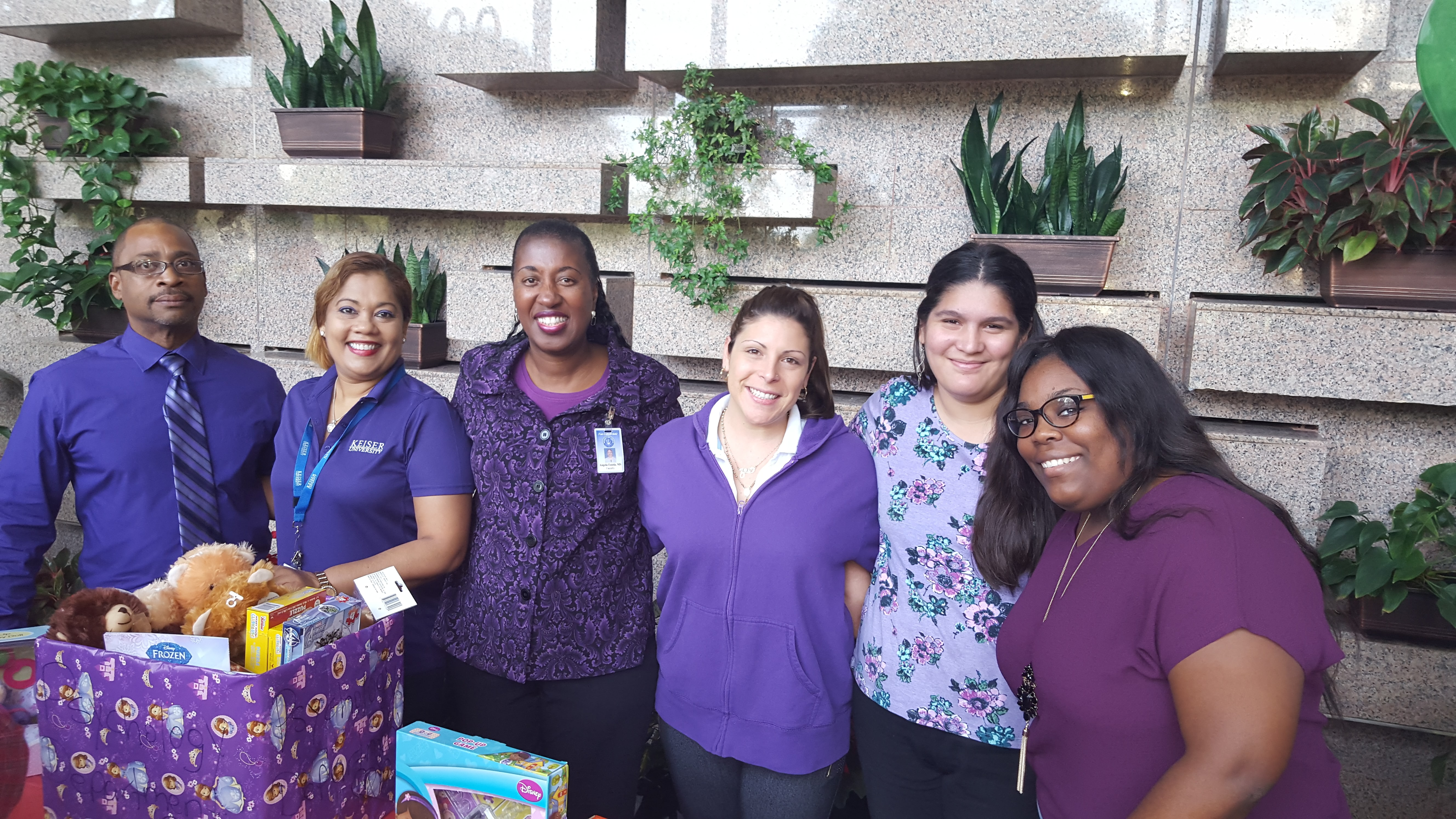 The Ft. Lauderdale Campus Psychology Club Creates a Campaign of Caring