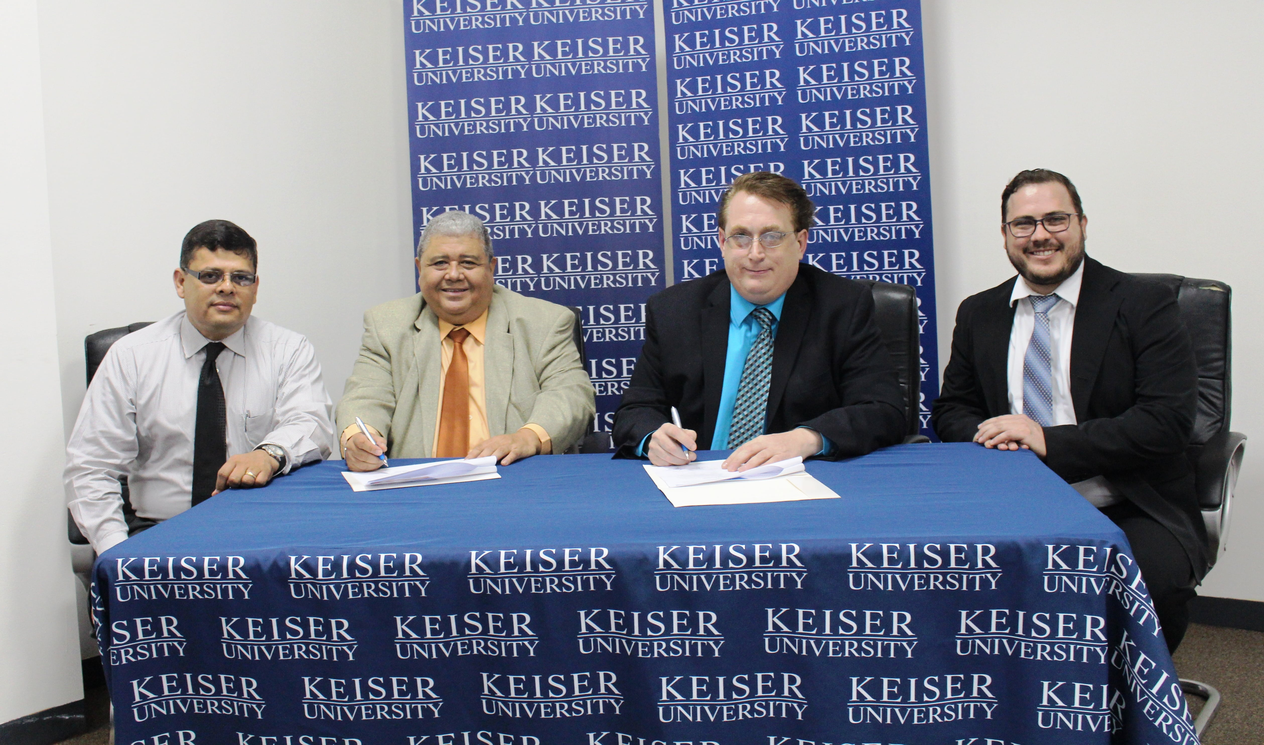 Keiser University's Latin American Campus celebrated the official launching of the Spanish to English Academic Learning Program (SEAL)