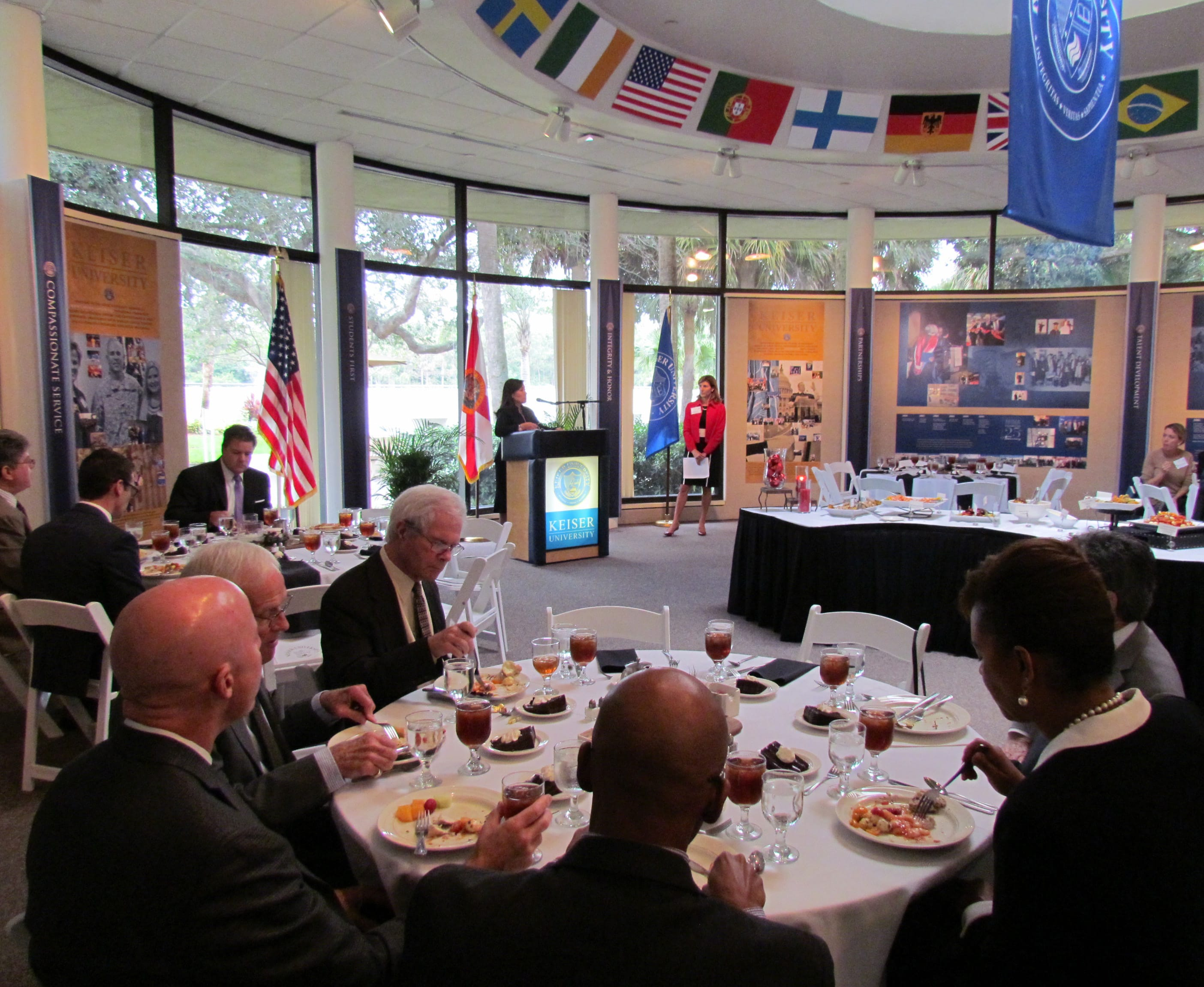 The Flagship Campus Hosted the Economic Council of Palm Beach County and Senator Aaron Bean