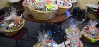 Thanksgiving basket raffle Dec. 2015