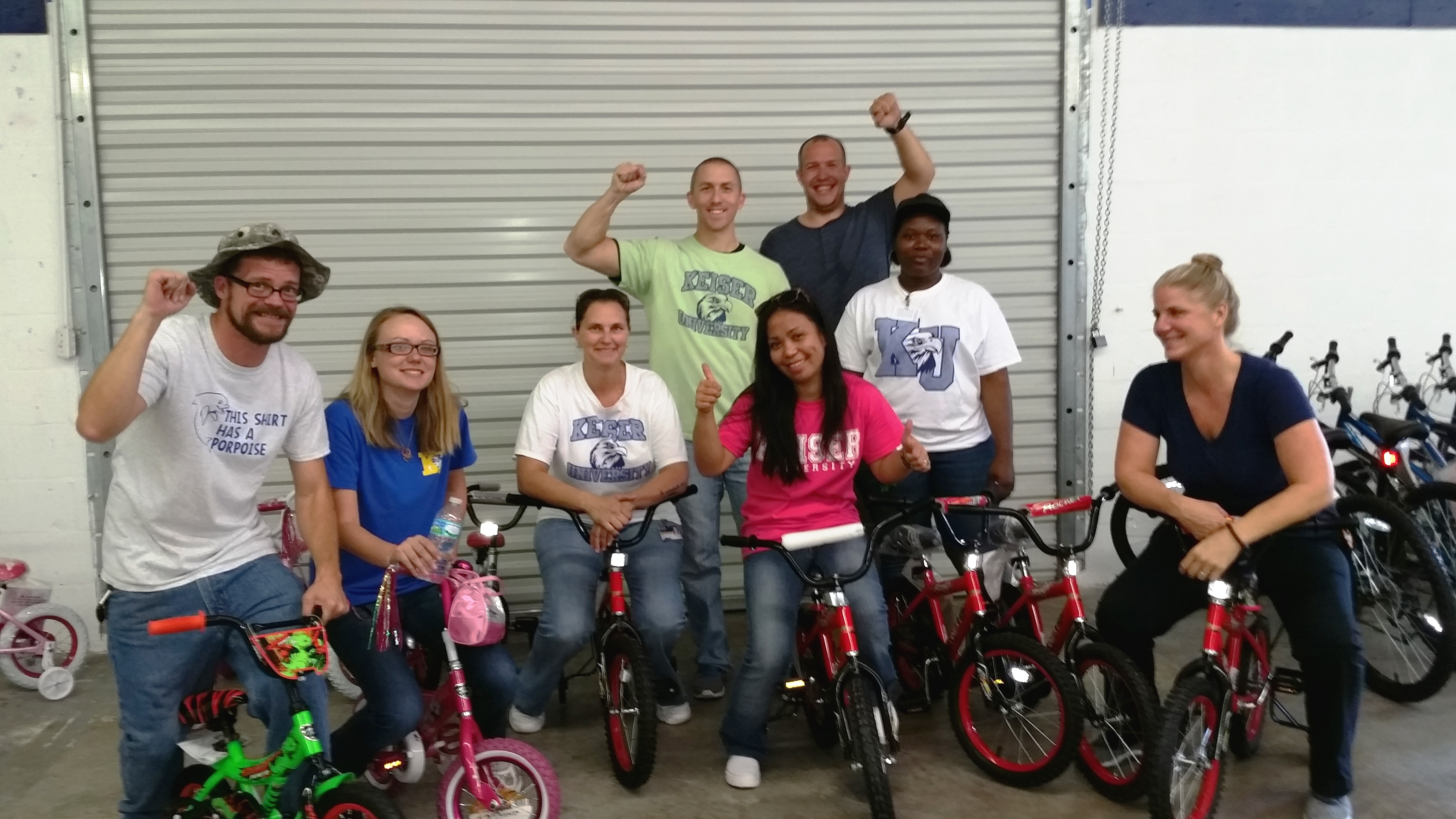 Speech Students from the Port St. Lucie Campus Volunteer at United Way