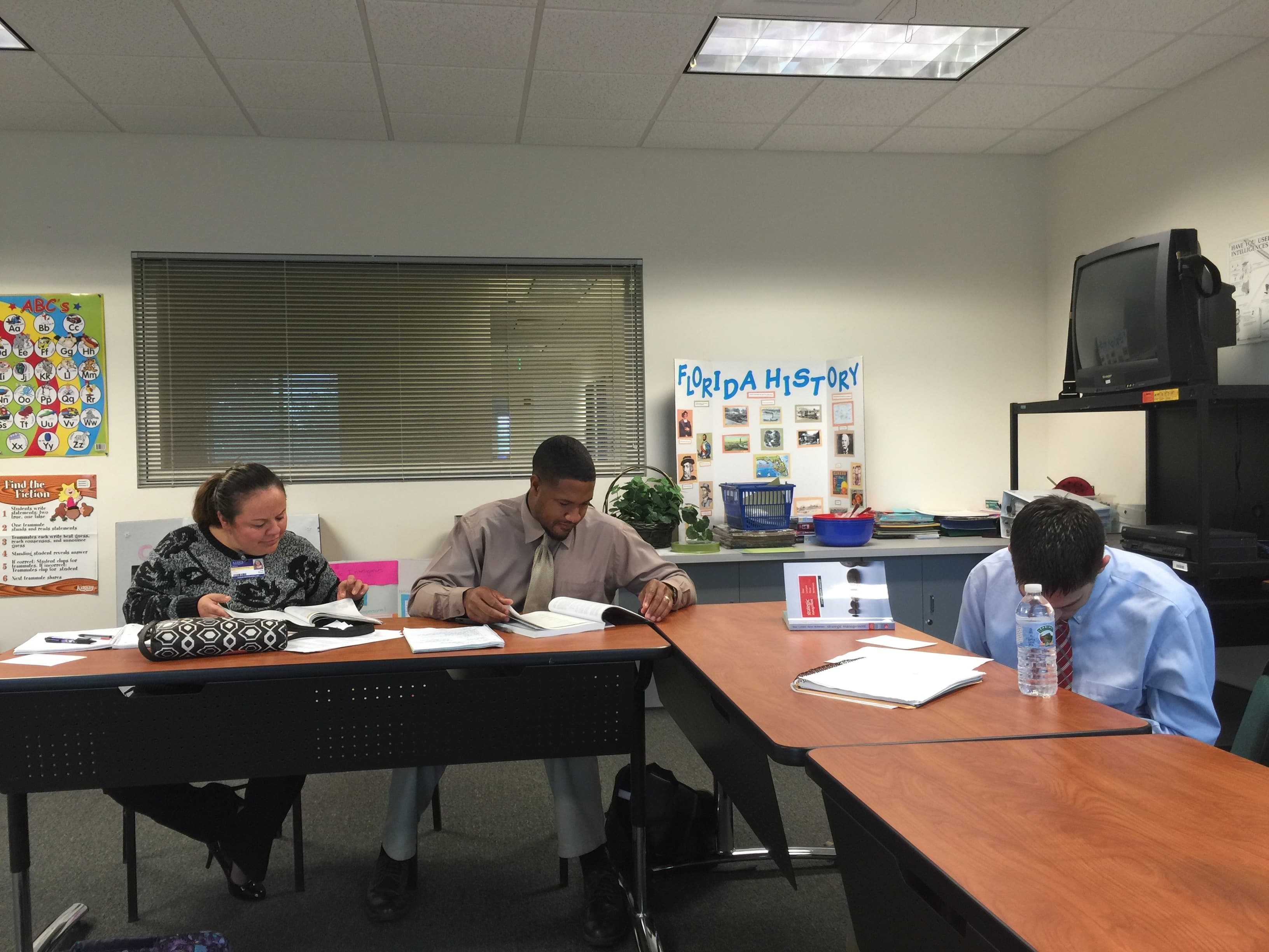 Students Participate in an Interactive Jeopardy Game in Sarasota