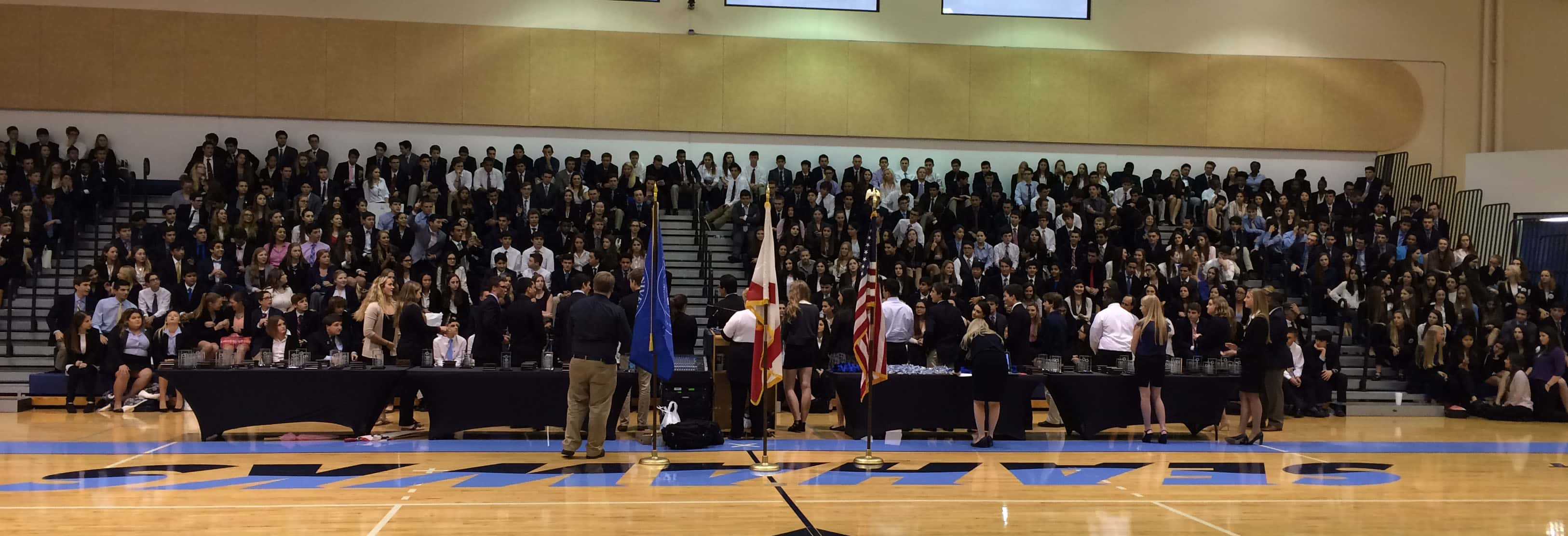 Keiser University's Flagship Campus Hosts DECA Competitions