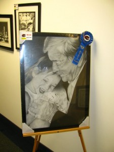 HS Art Show 1st Place Drawing Jan. 2016