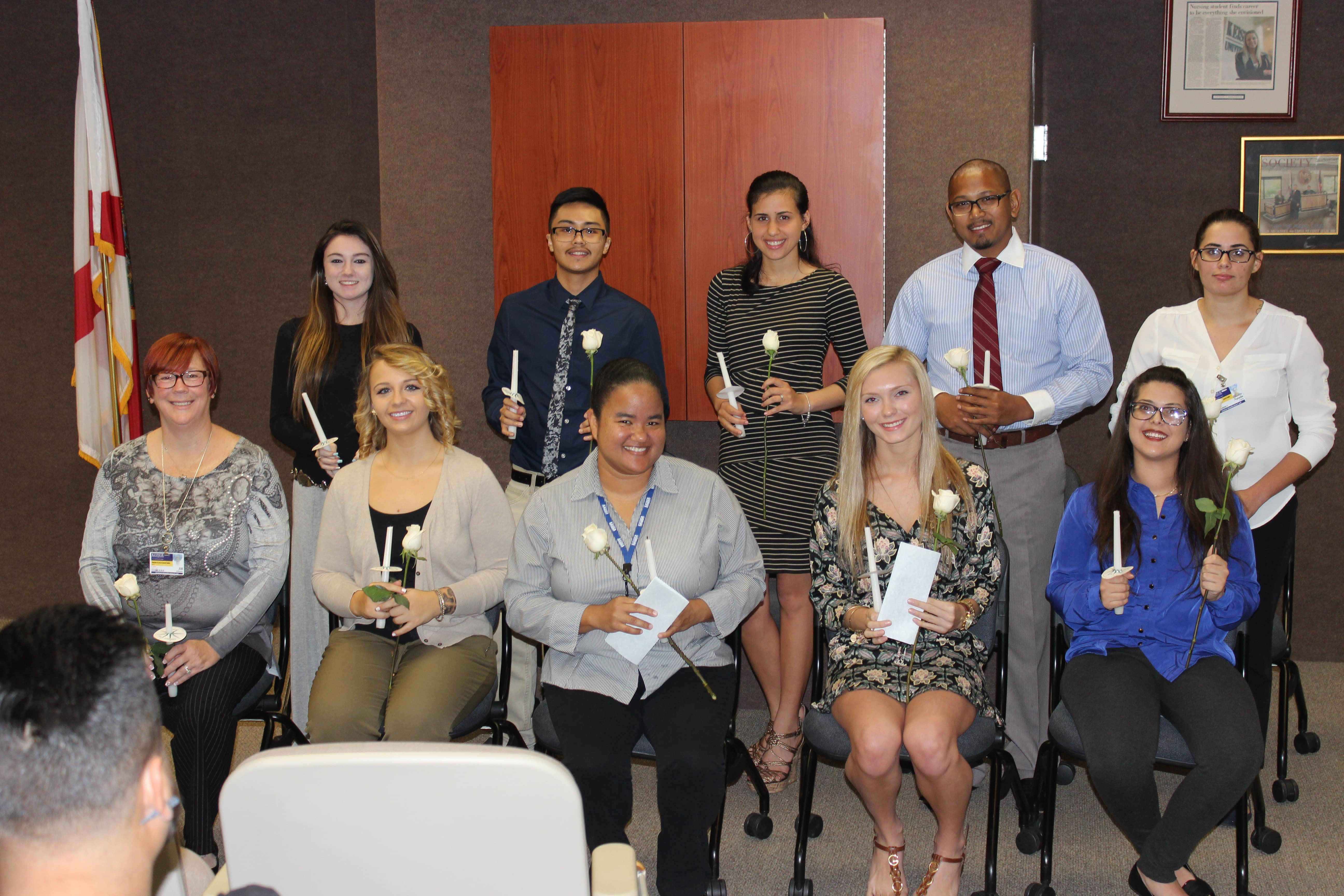 PTK Induction Ceremony Held at the West Palm Beach Campus