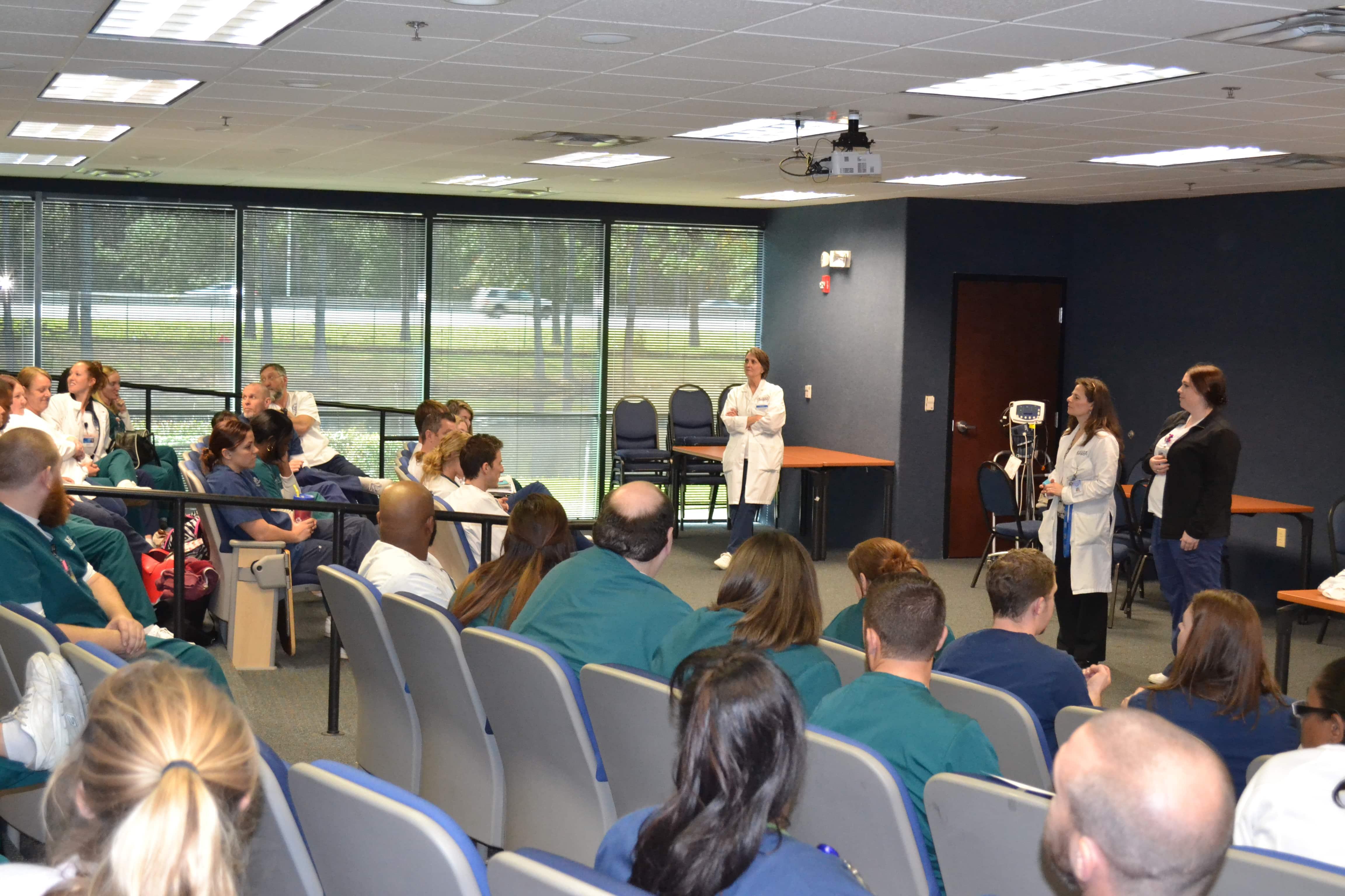 Jacksonville Holds an Allied Health Interdisciplinary Event