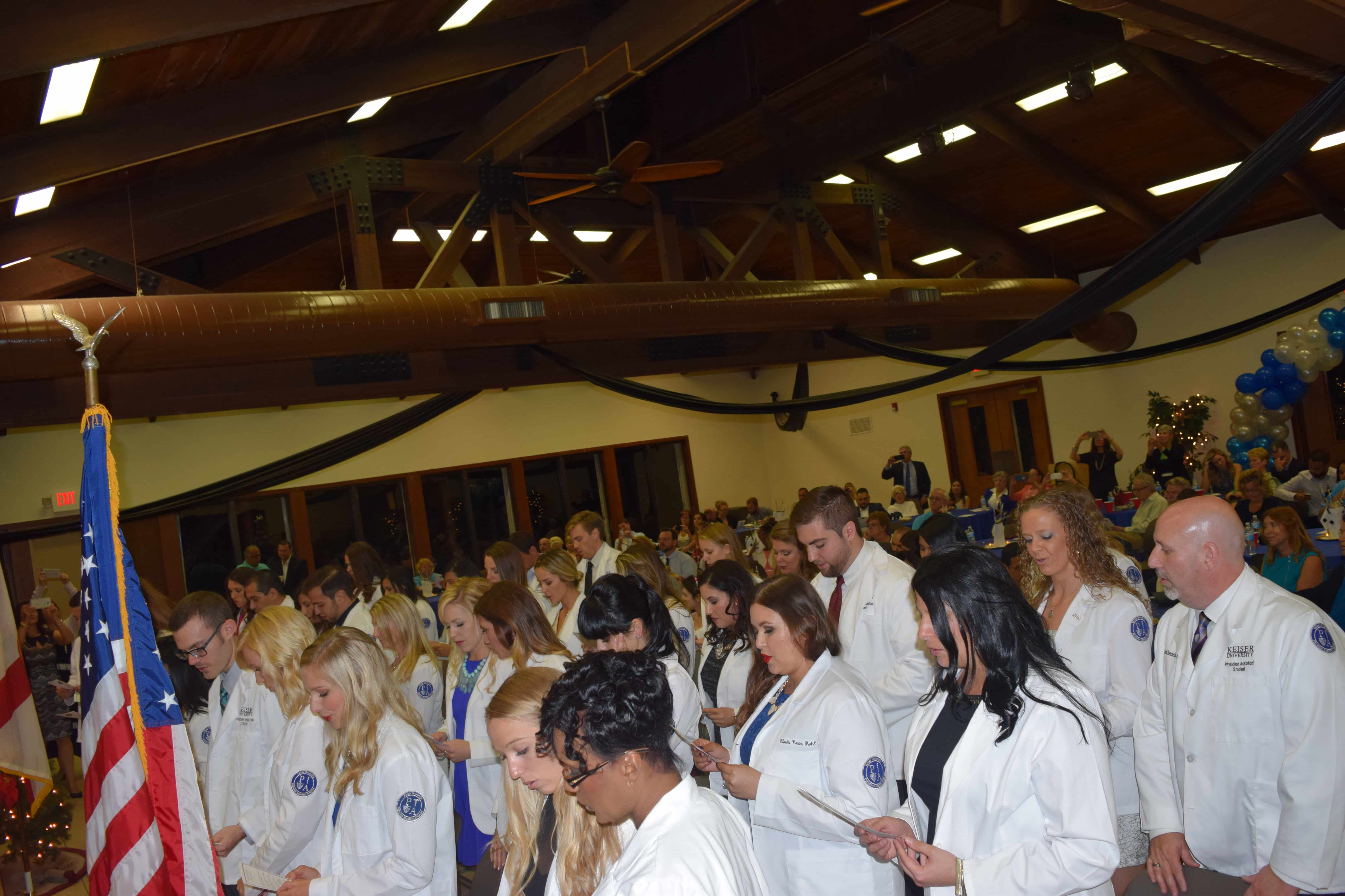 Keiser University Pa Program >> Gallery Ft Lauderdale Holds A Ceremony For Physician