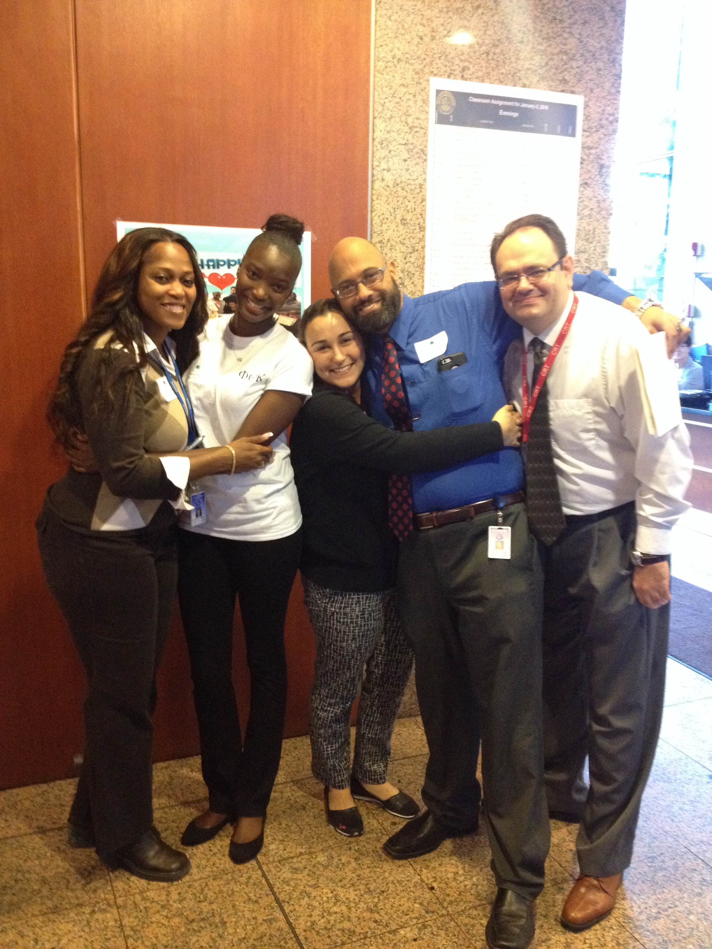 Ft. Lauderdale's Phi Theta Kappa Chapter Celebrates National Hug Day