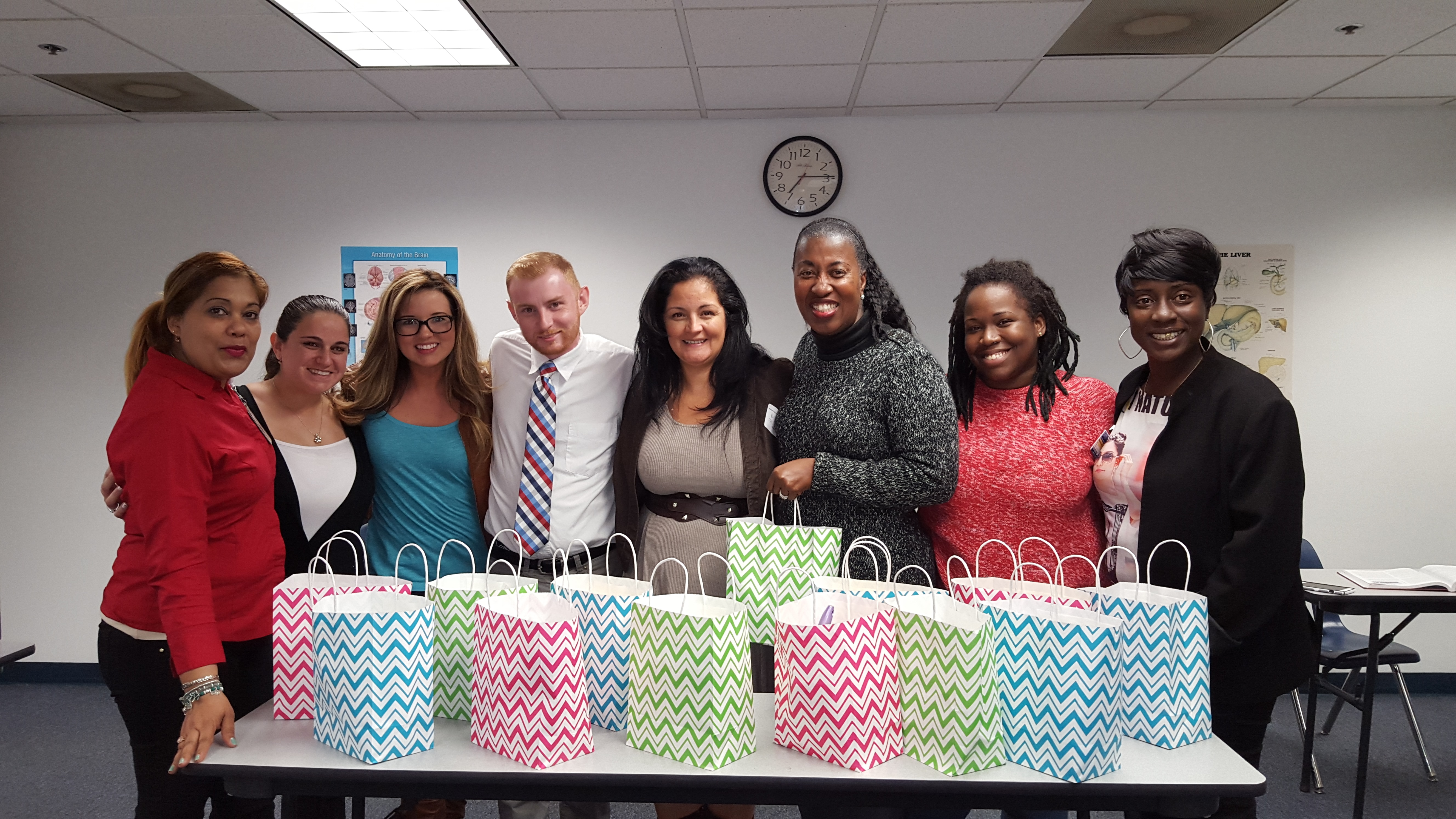 Ft. Lauderdale Psychology Students Make a Donation to the South Florida Wellness Network