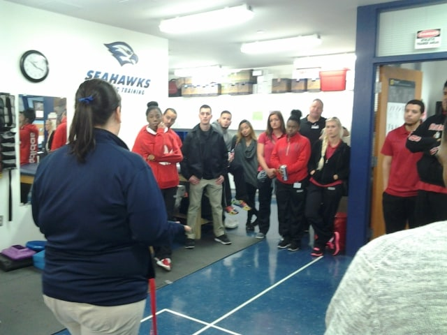 The Flagship and Port St. Lucie Campus Teams Learn More About Sports Medicine and First Aid