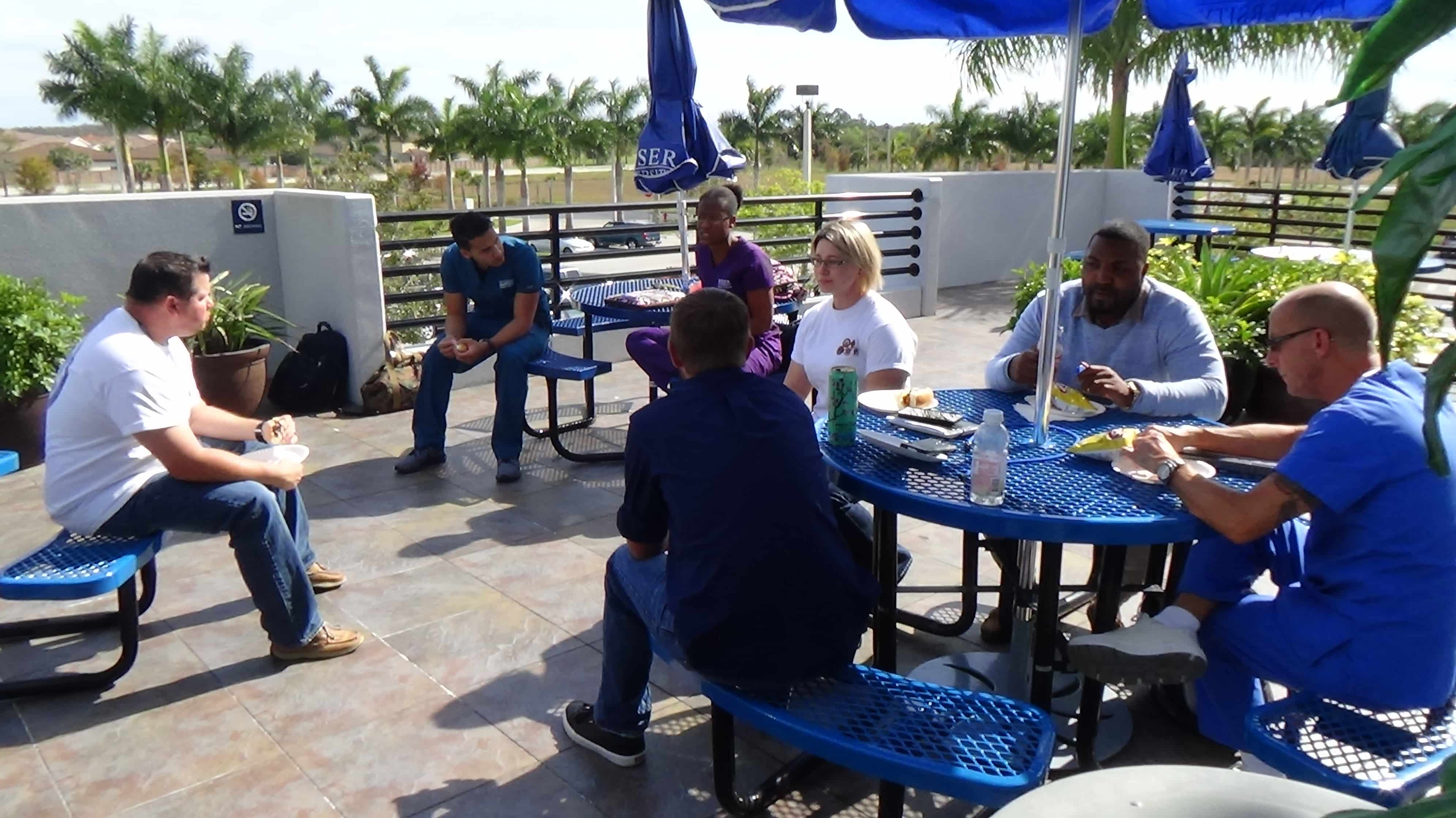 Student Veterans Association Hold BBQ on Fort Myers Campus