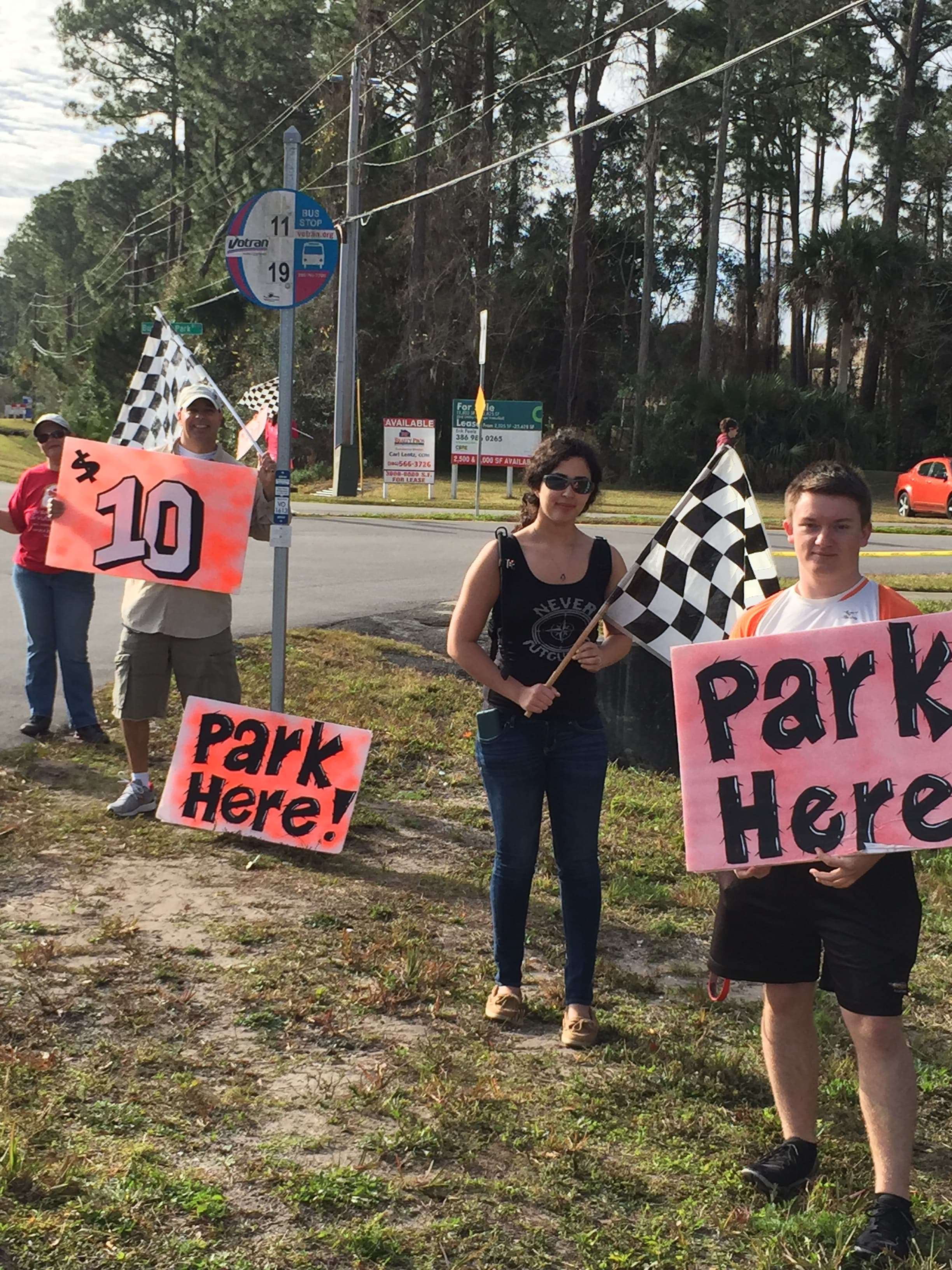 Daytona Students Raced Their Way into Community Service Hours