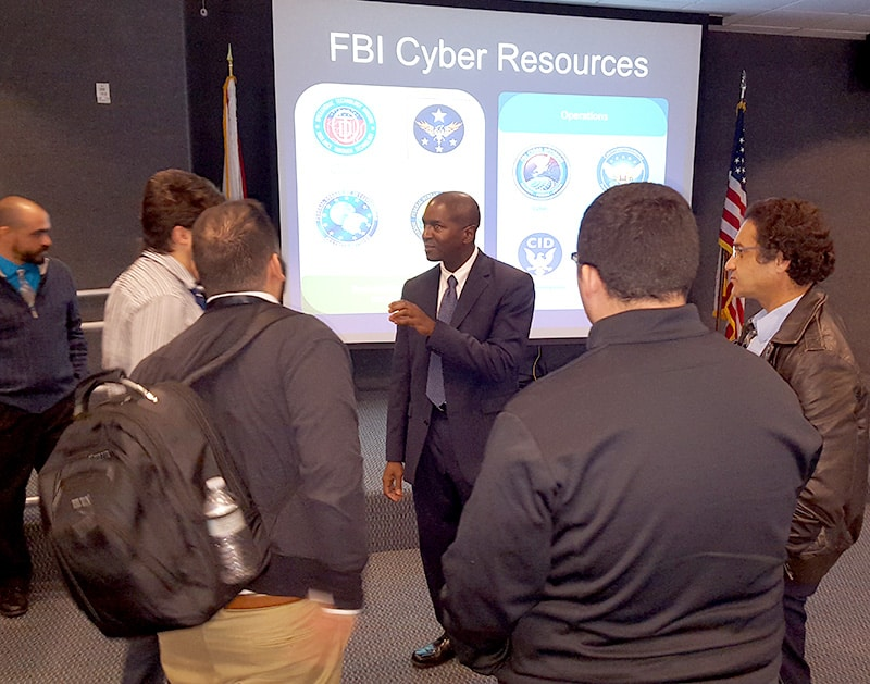 College of Advanced Technology Hosts Agent Kevin Parker of the FBI