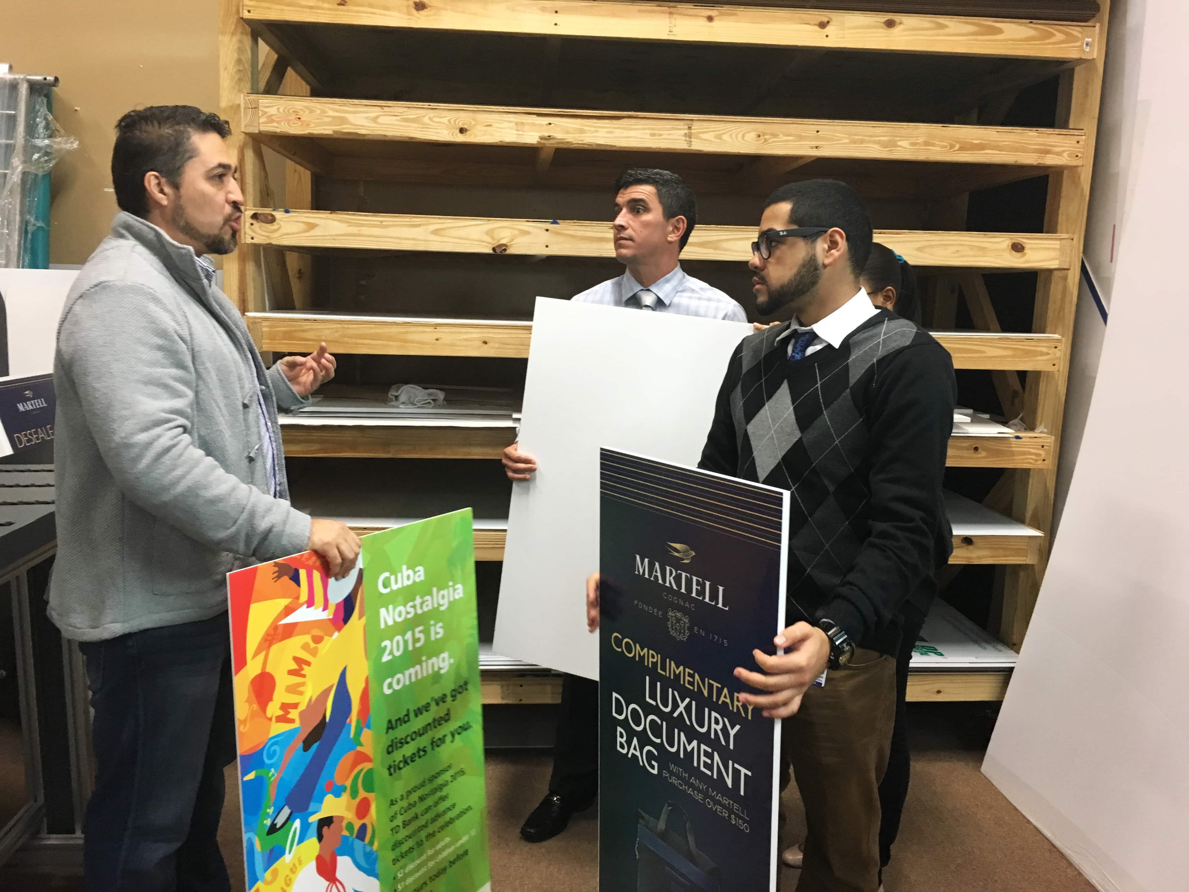 College of Advanced Technology Graphic Arts & Design Students Visit Digital Print House in Miami