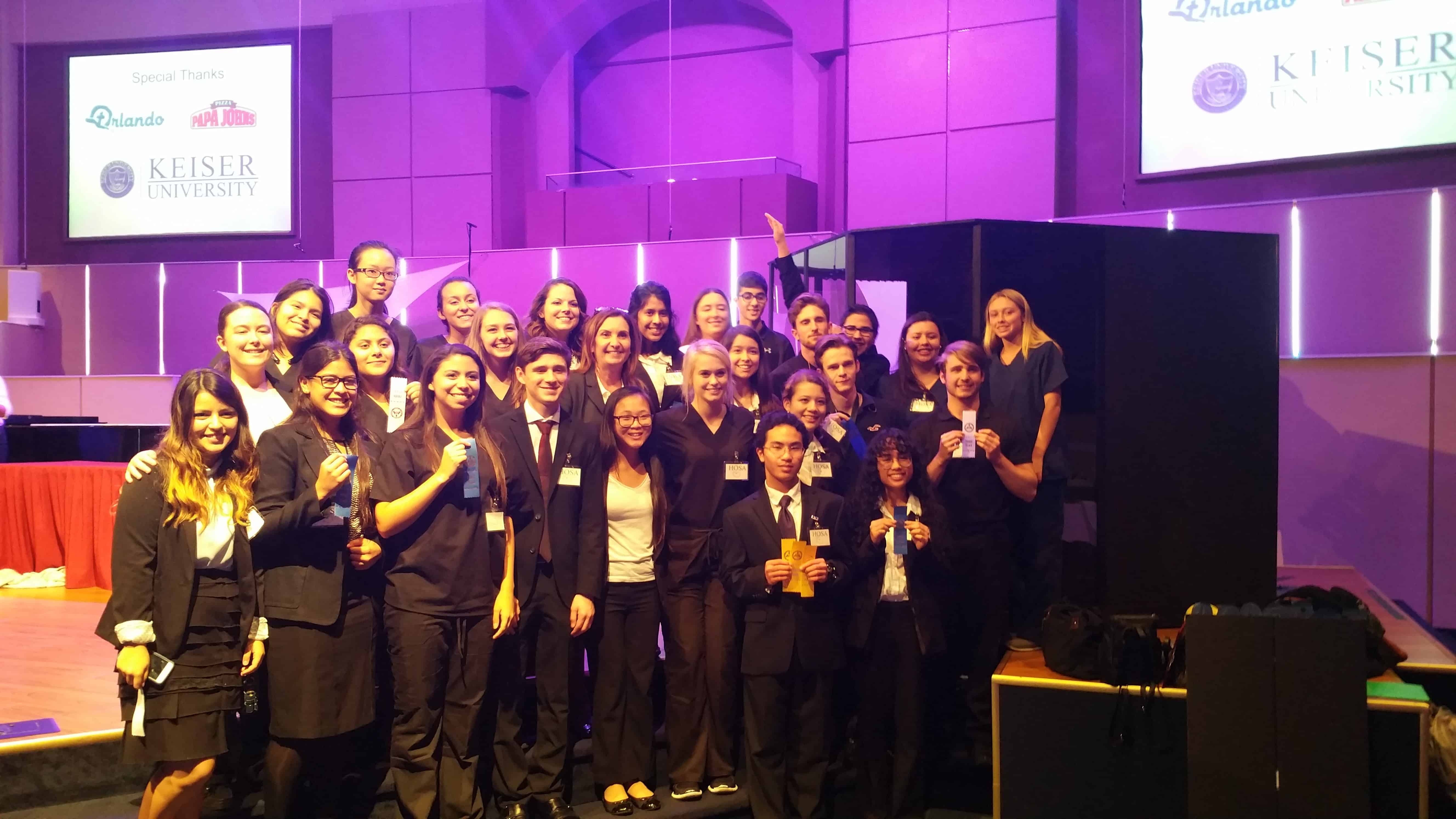 The Orlando Campus Hosted the Central Florida Regional Conference for HOSA