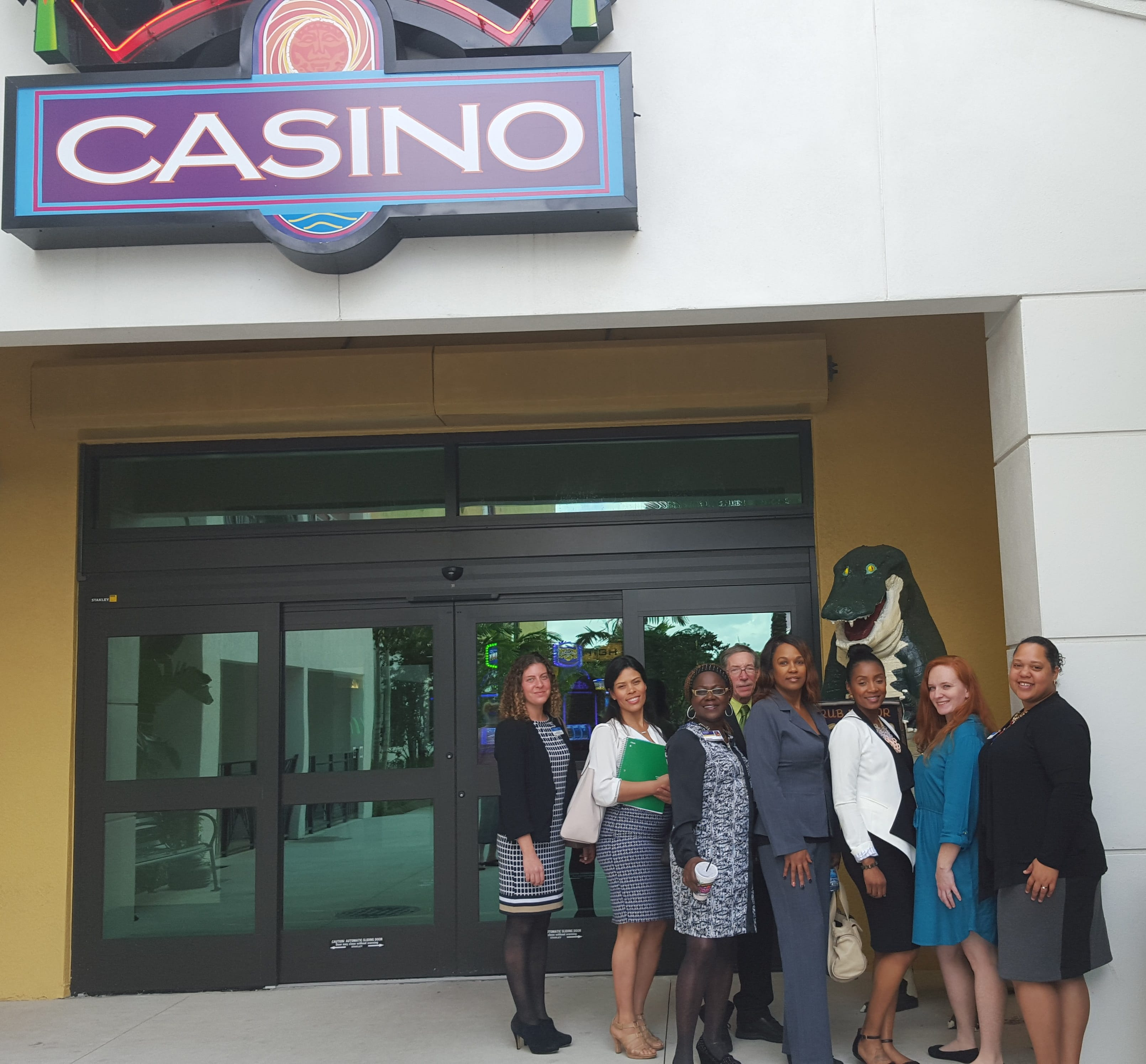 Fort Myers Hospitality Students Get Tour of Seminole Casino