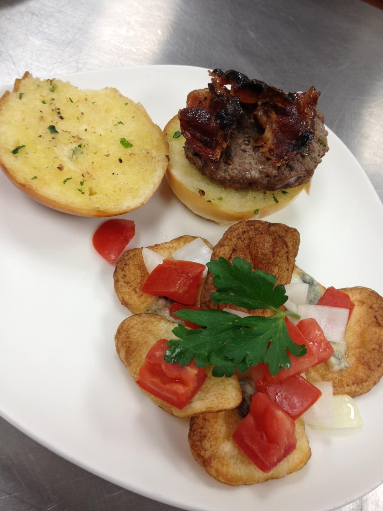 Super Bowl Treats from Sarasota's Center for Culinary Arts: Buffalo Burgers