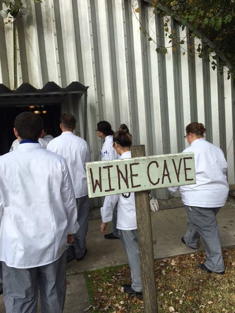 Sarasota Culinary Students Visit Bunker Hill Vineyard and Winery
