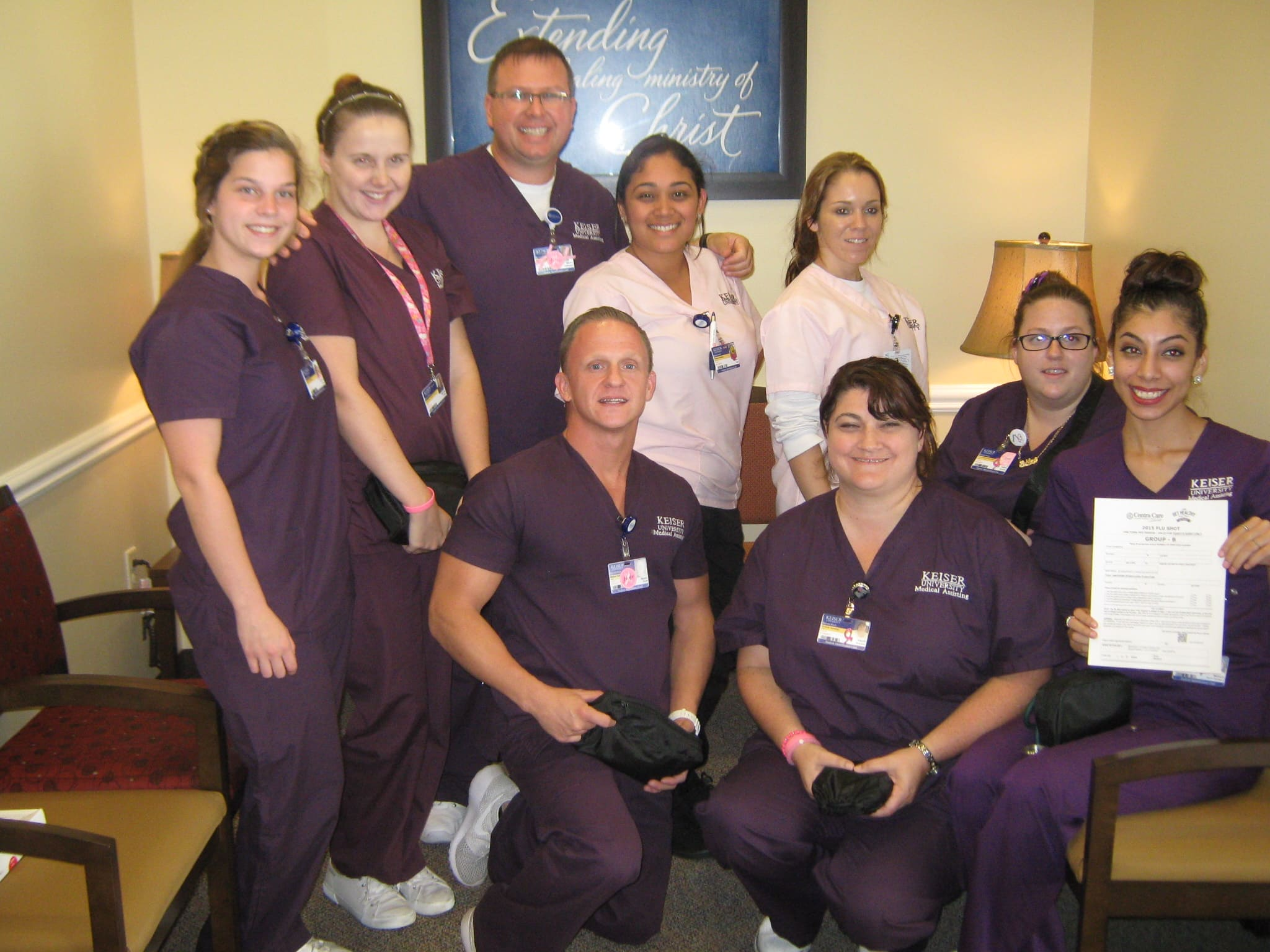 Flashback Friday – Daytona Medical Assisting Students Give Back to the Community