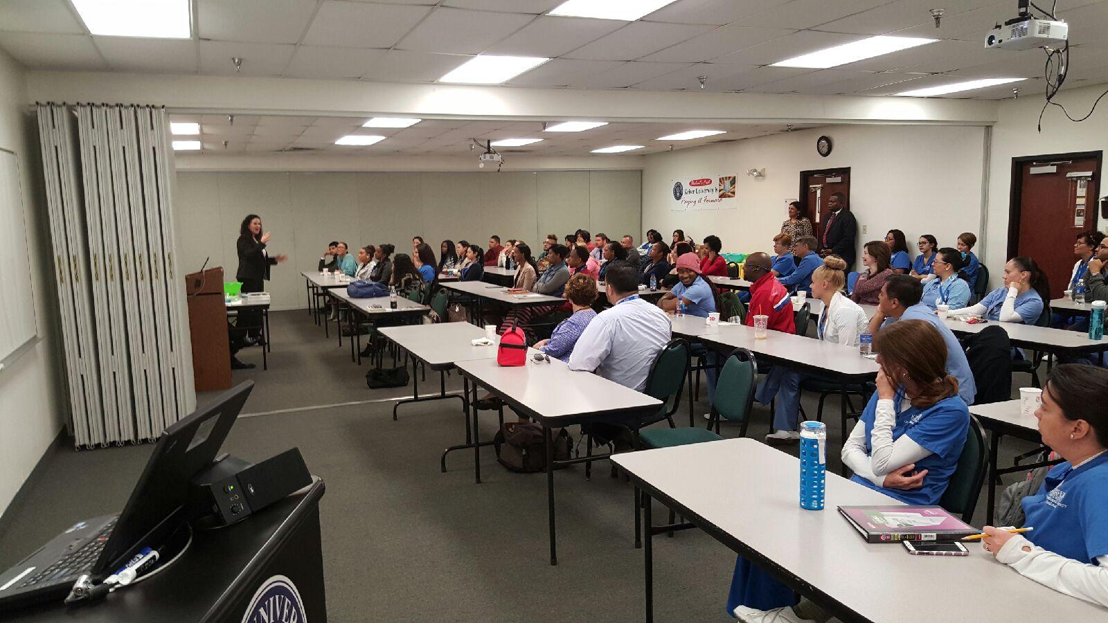 Orlando Welcomes Speakers from NABA, Toastmasters, & Robert Half