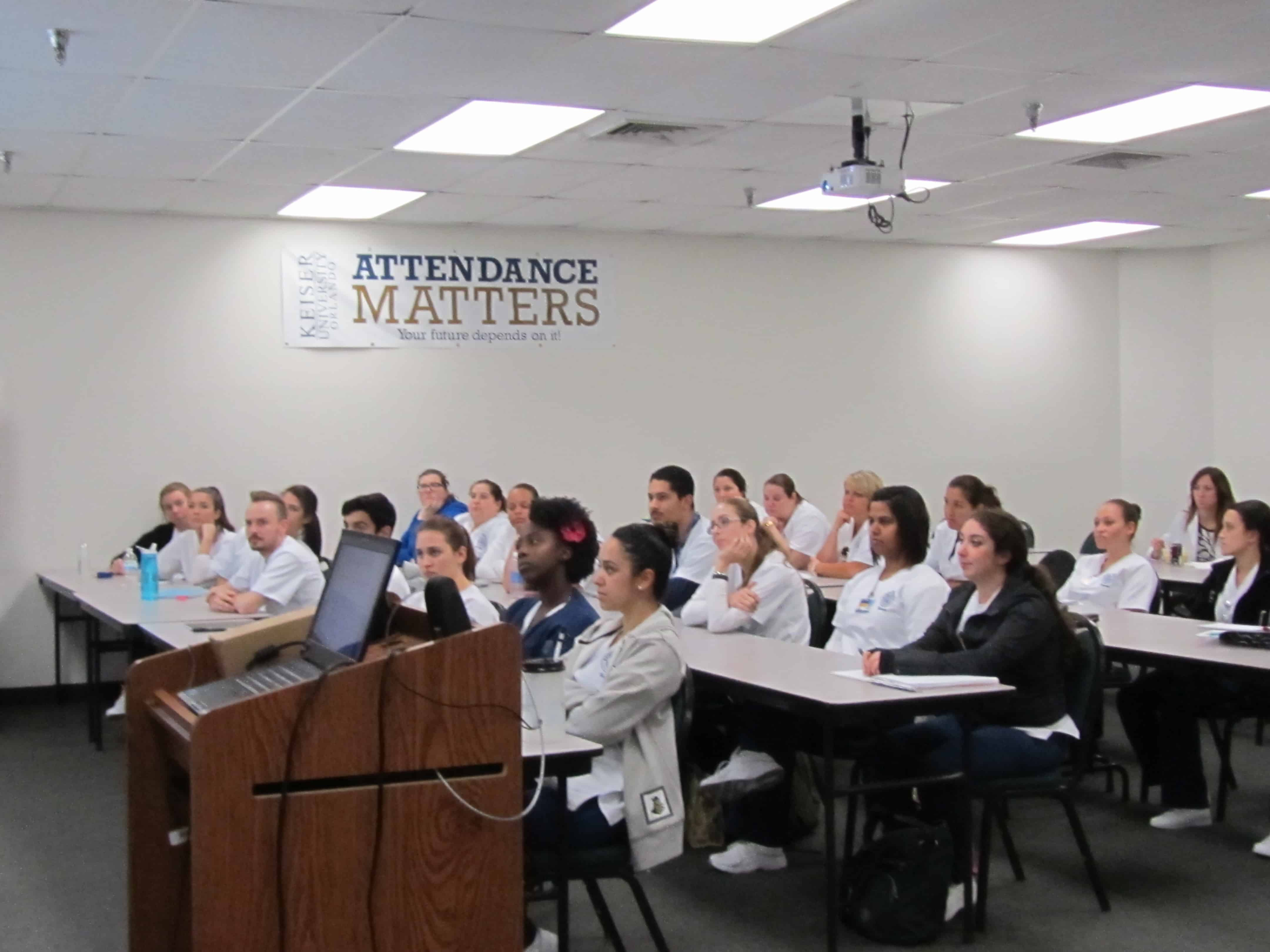 Orlando Nursing Students Learn About Stevens Johnson Syndrome from Guest Speakers