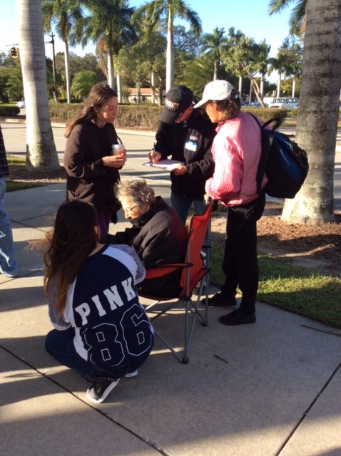 Fort Myers OTA Student Help the Community
