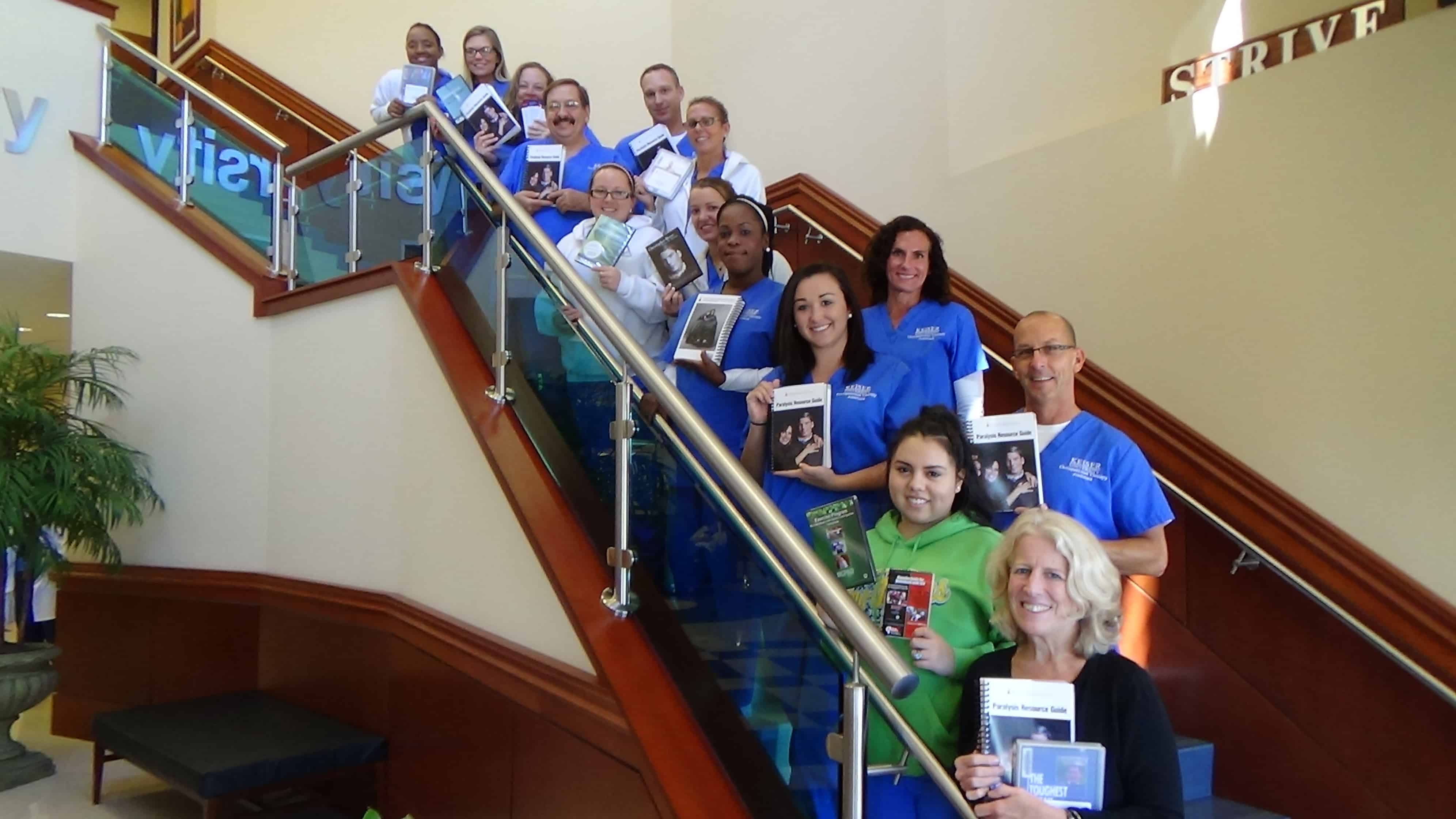 Christopher and Dana Reeves Foundation Provides Resources for Fort Myers OTA Students