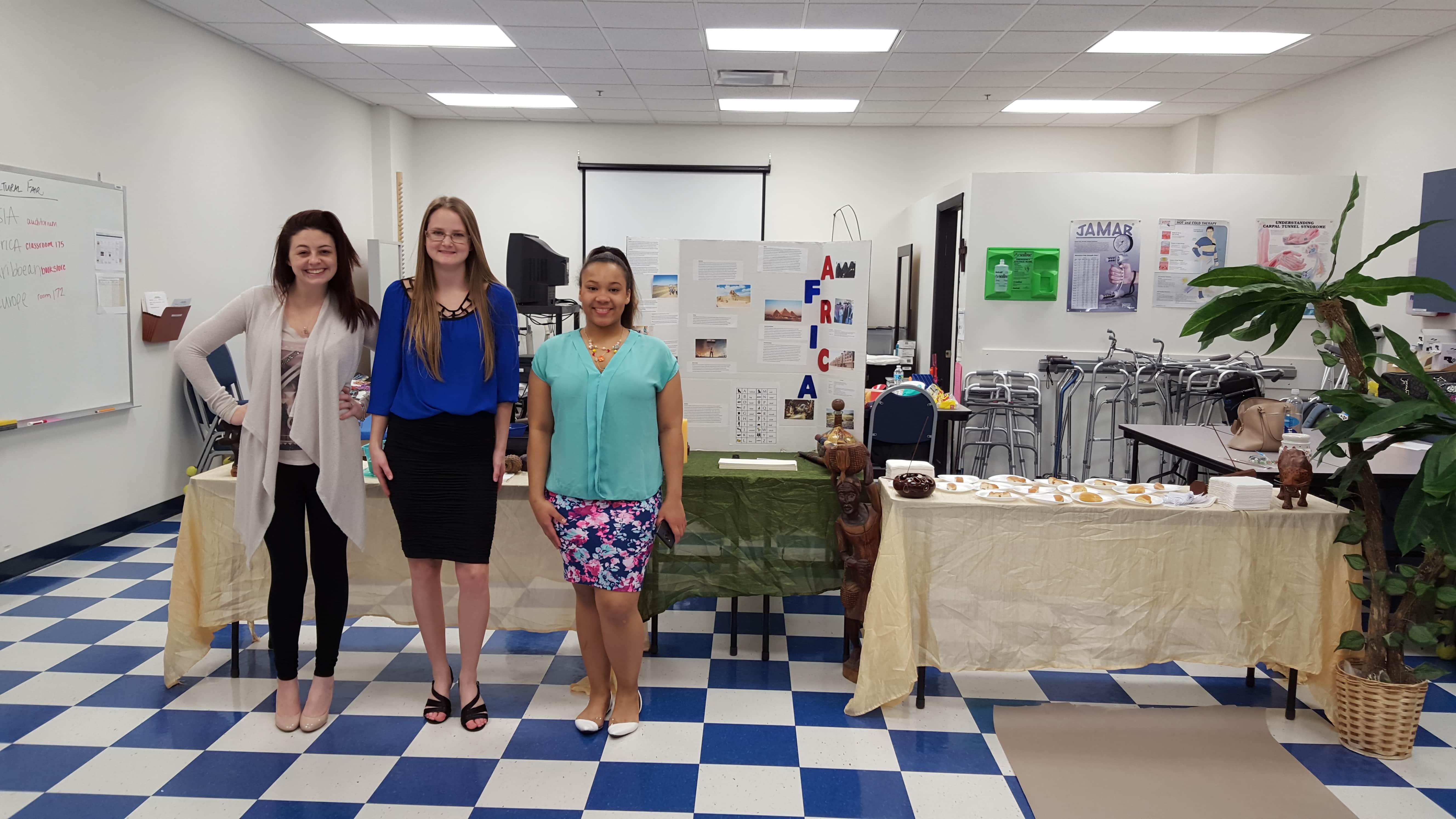 Daytona OTA Students Hold a Cultural Fair