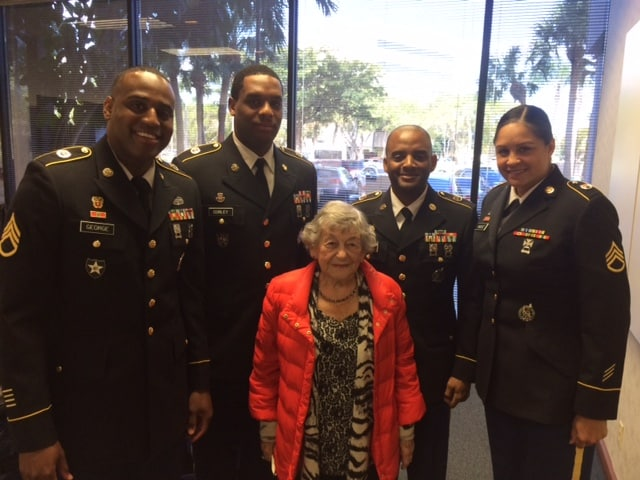 Ft. Lauderdale Kicks Off their Student Veterans of America Organization on Campus