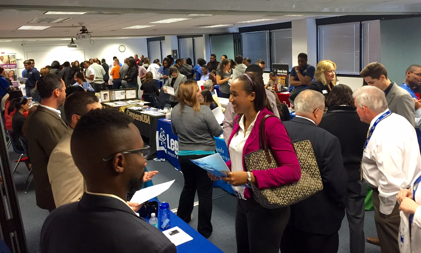 Ft. Lauderdale Holds Bi-Annual Career Expo
