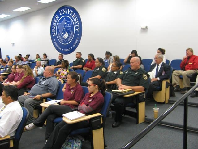 Students at Port St. Lucie Campus Received a Seminar on Computer Forensics