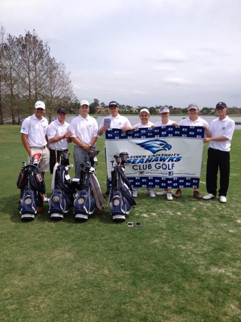 Keiser University Seahawk Club Golf Team Highlights