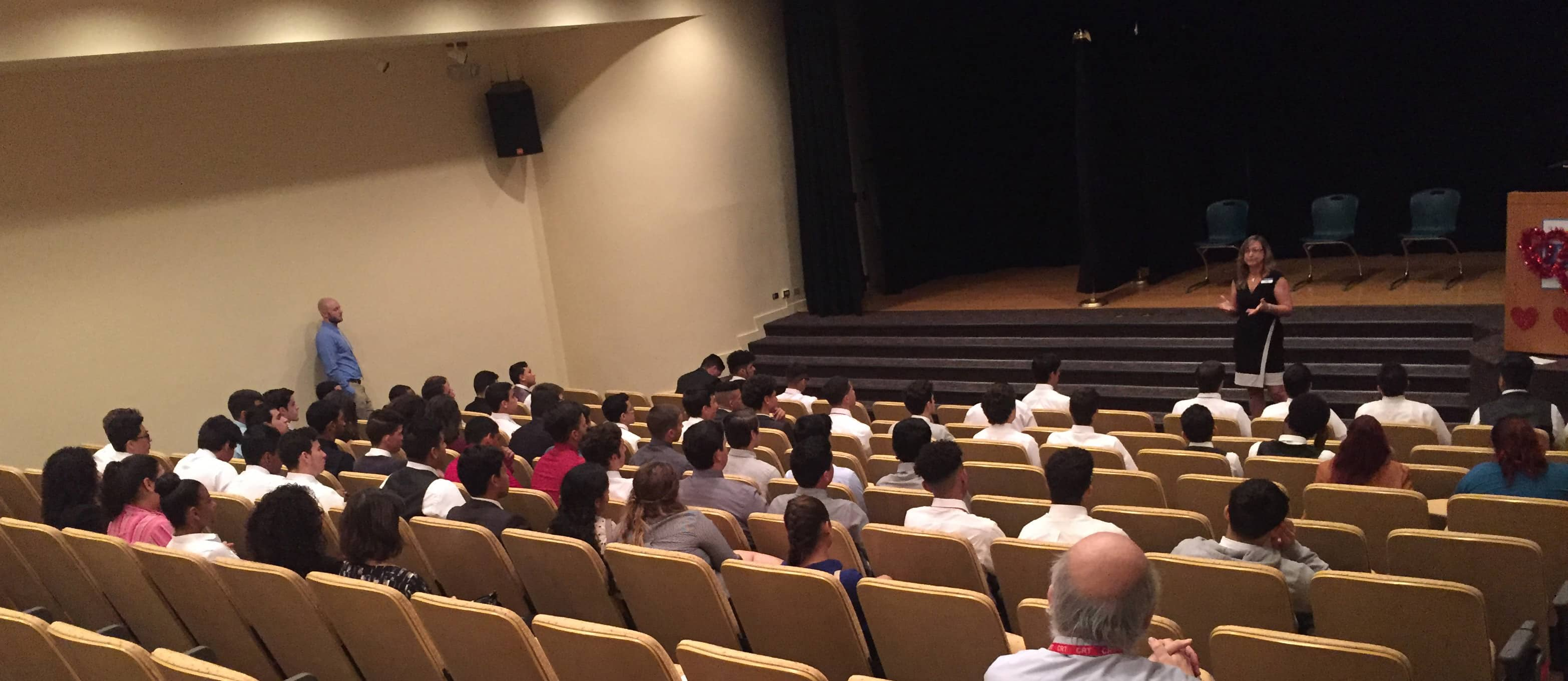 High School Students Experience Keiser's Flagship Campus First Hand