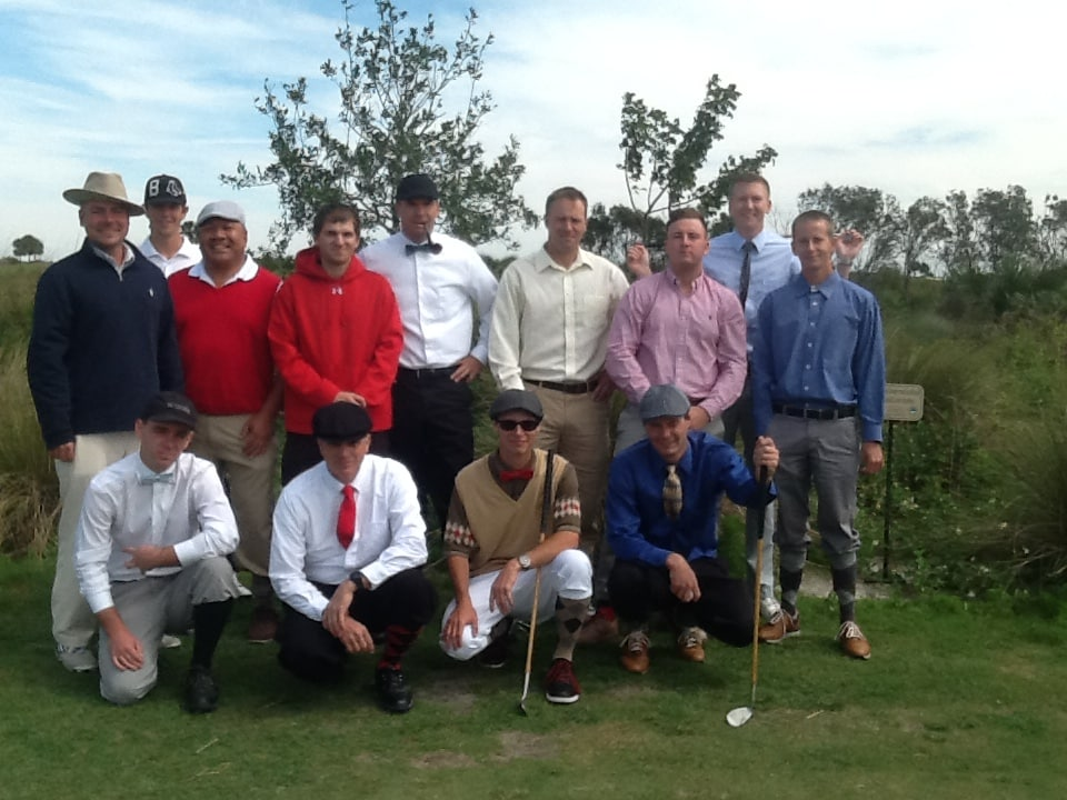 Flagship College of Golf Students Experience Hickory Golf