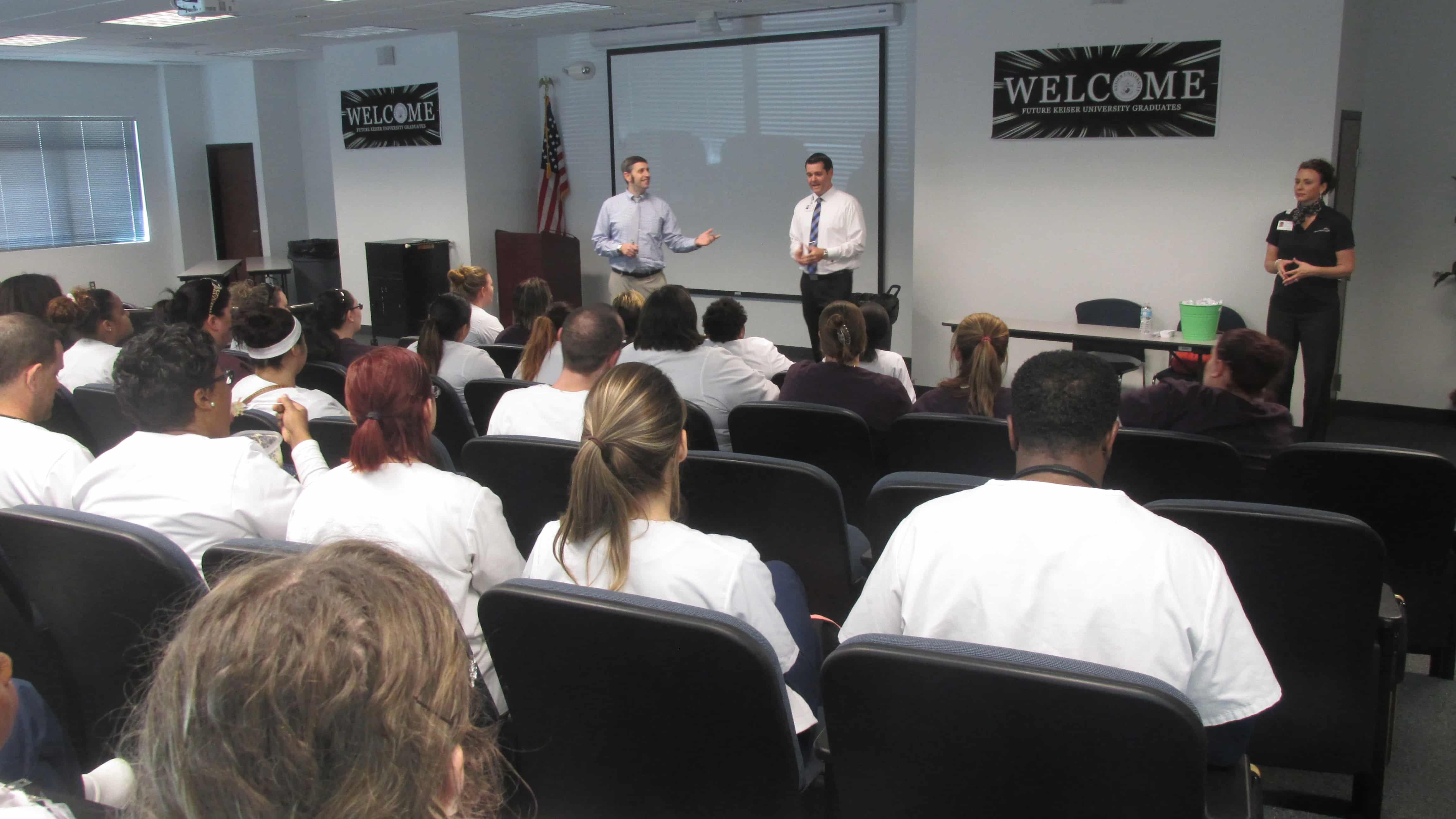 Lakeland Regional Health Visits the Lakeland KU Campus